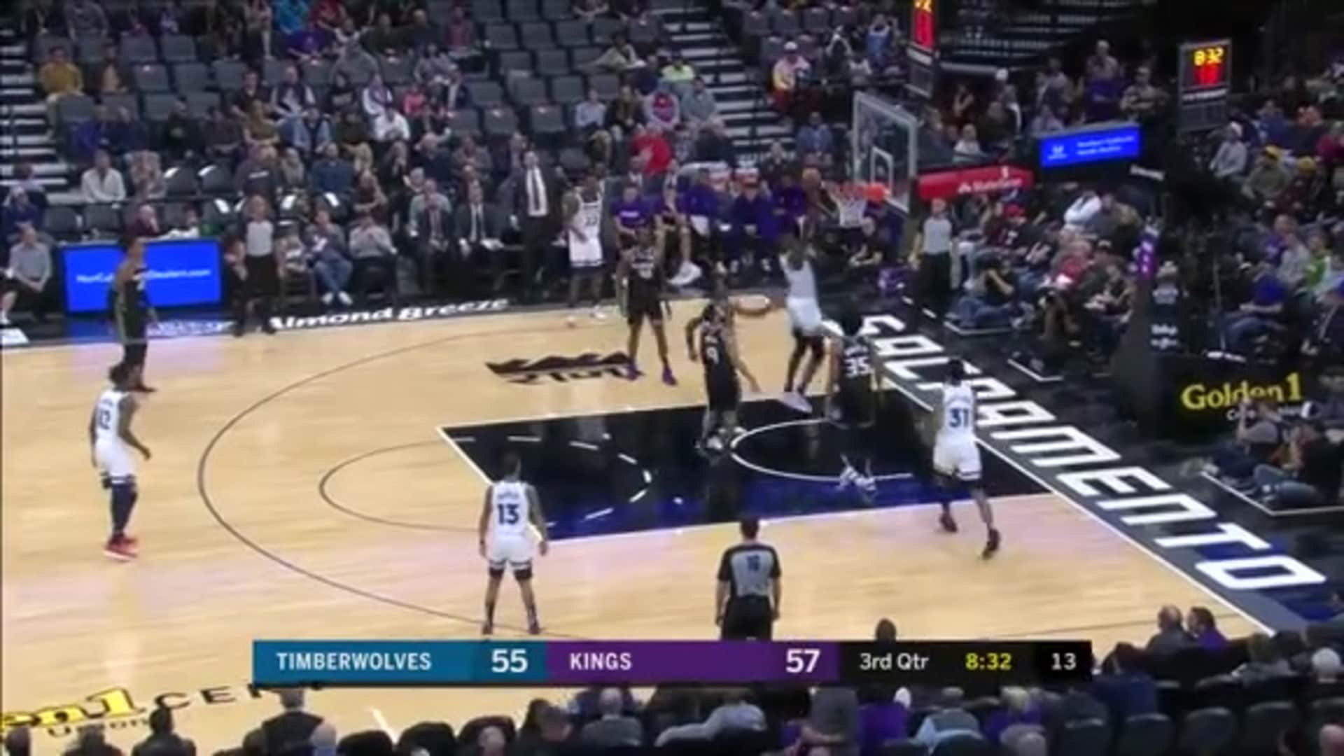 Highlights | Gorgui Dieng 21 Points, 15 Rebounds, 2 Steals, One Block at Kings (12.26.19)