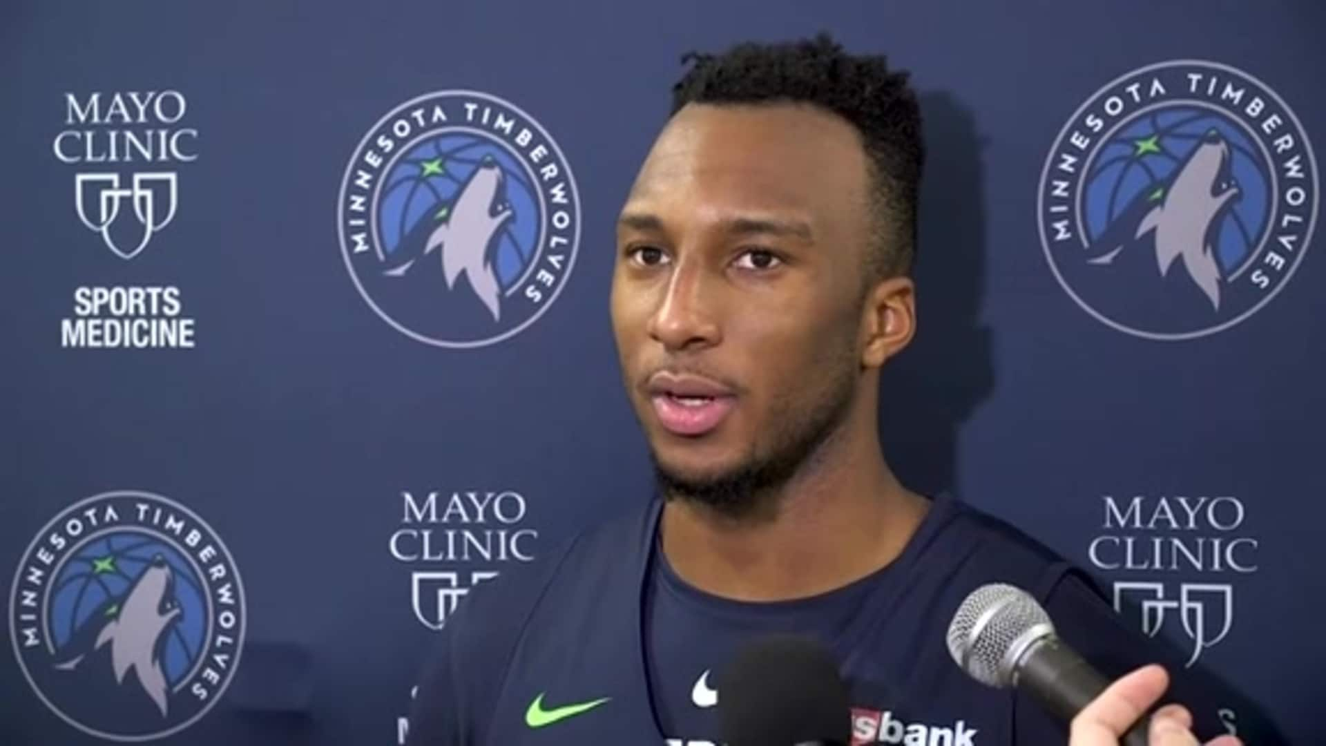 Timberwolves Guard Josh Okogie On Defensive Improvements (12.30.19)
