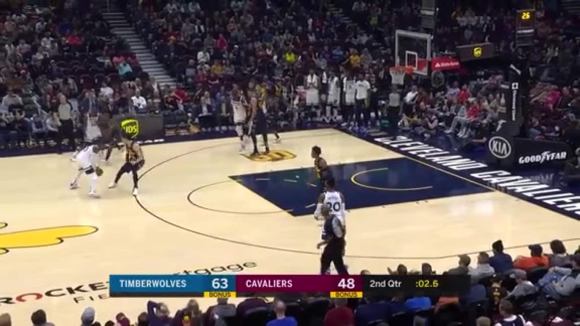 Highlights | Timberwolves 118, Cavaliers 103 (1.5.20)