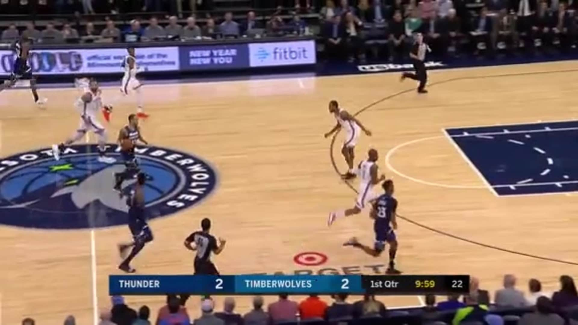 Dieng Steal Leads To Covs 3