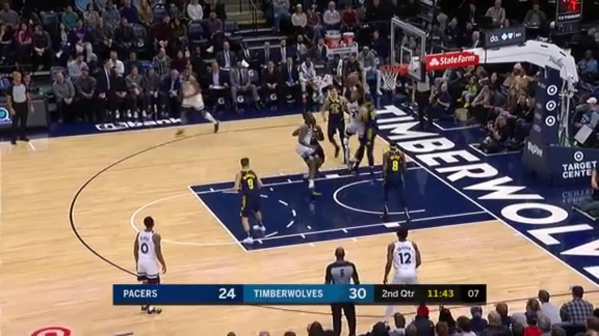 Culver With The Nifty Left-Handed Layup