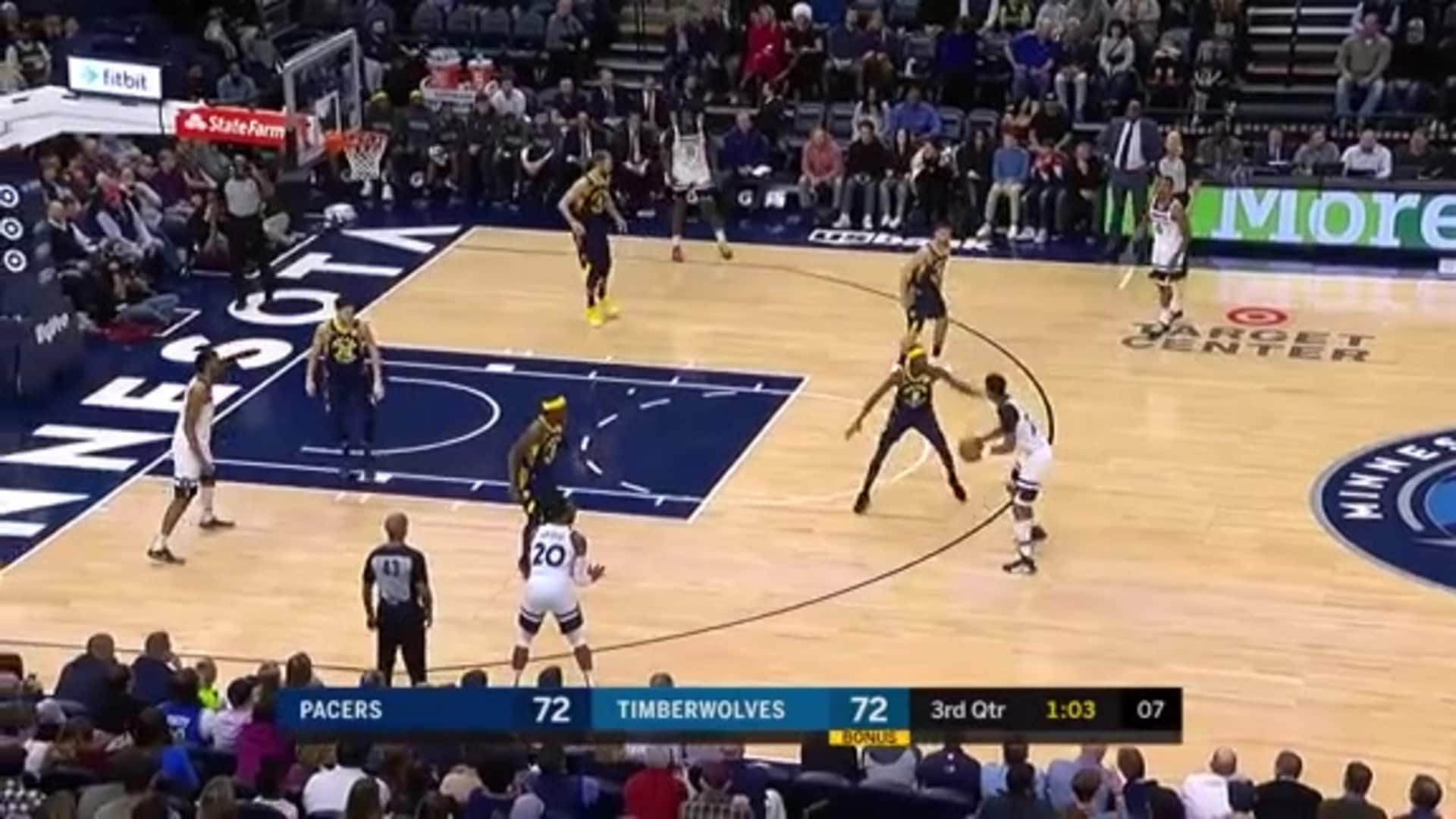 Highlights | Timberwolves 99, Pacers 104 (1.15.20)