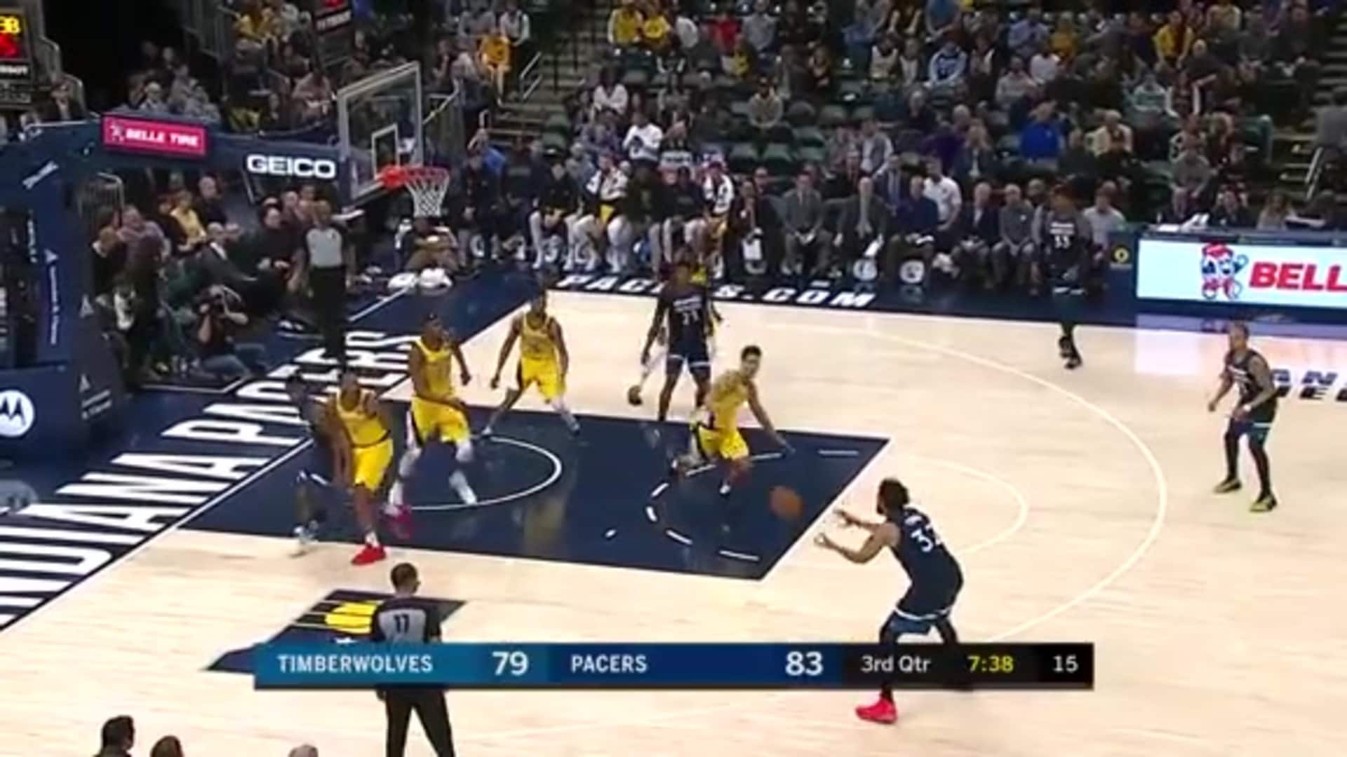 Highlights | Karl-Anthony Towns 27 Points vs. Pacers (1.17.20)