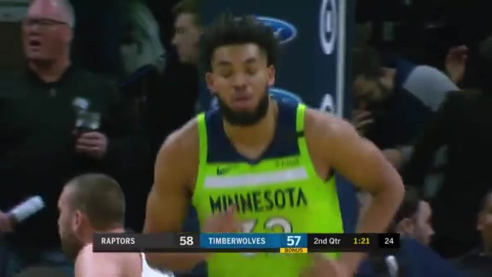 Wiggins Finds Towns For Alley-Oop
