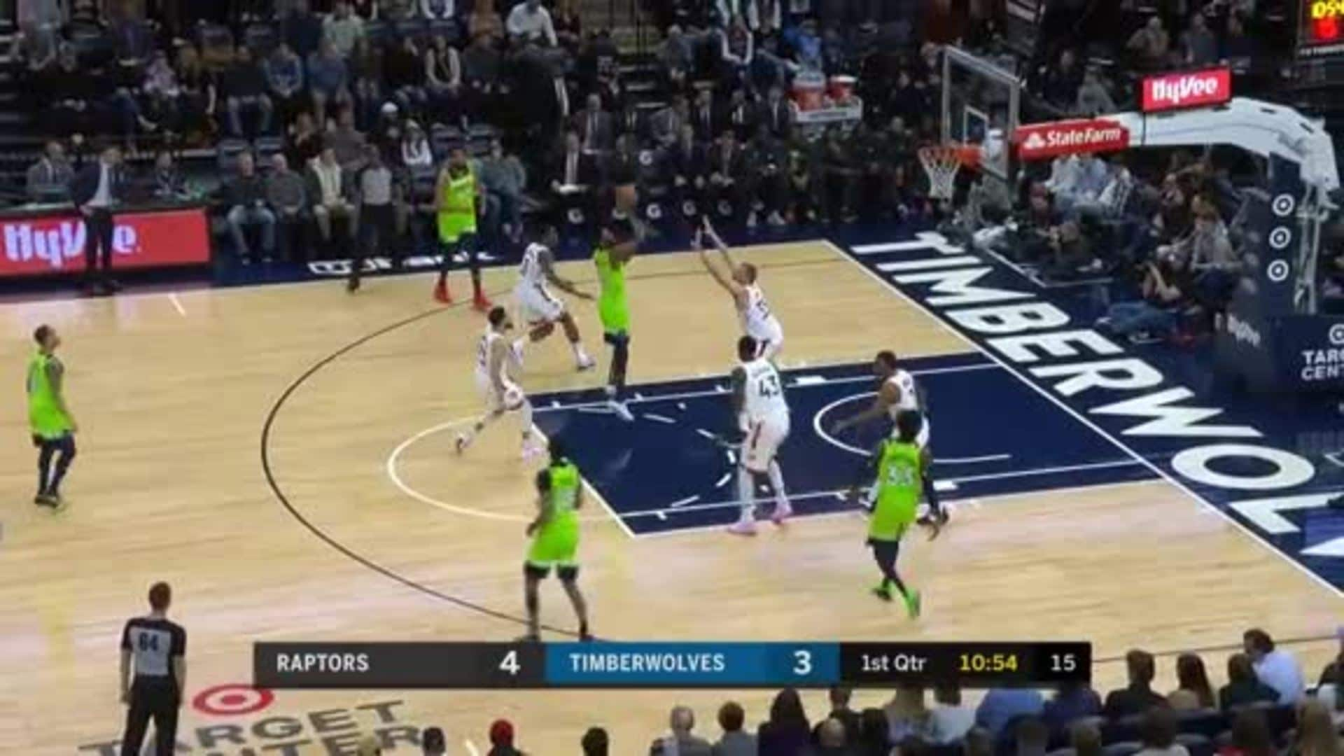 Highlights   Andrew Wiggins With Triple-Double vs. Raptors (1.18.20)