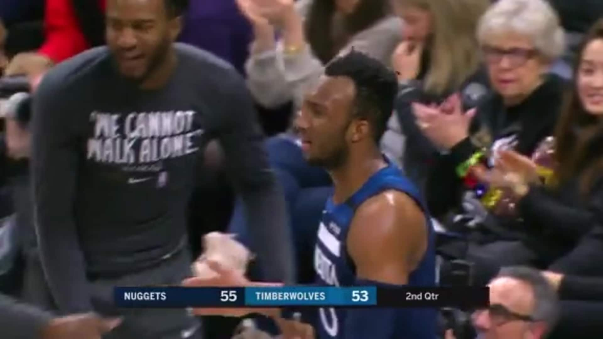 Okogie Beats The Buzzer