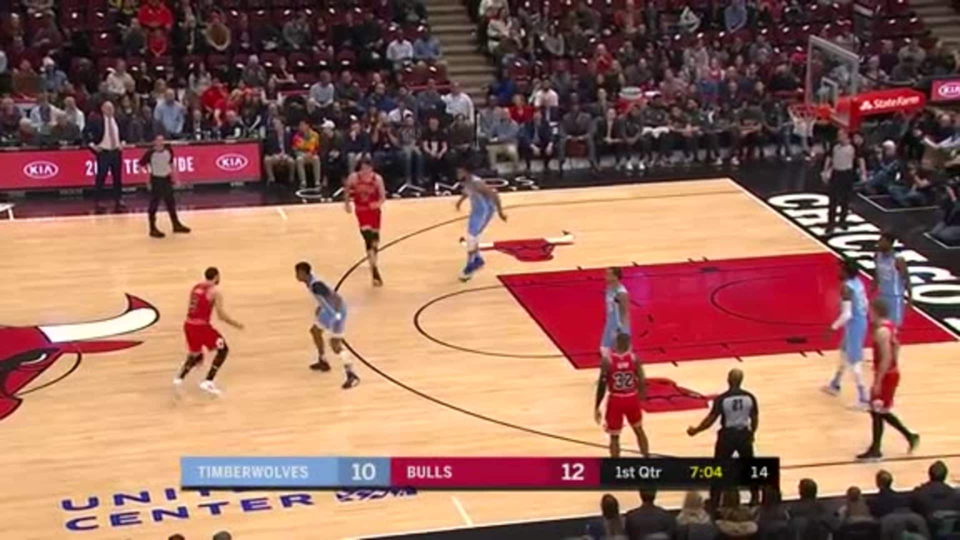 Towns With The Swat On LaVine