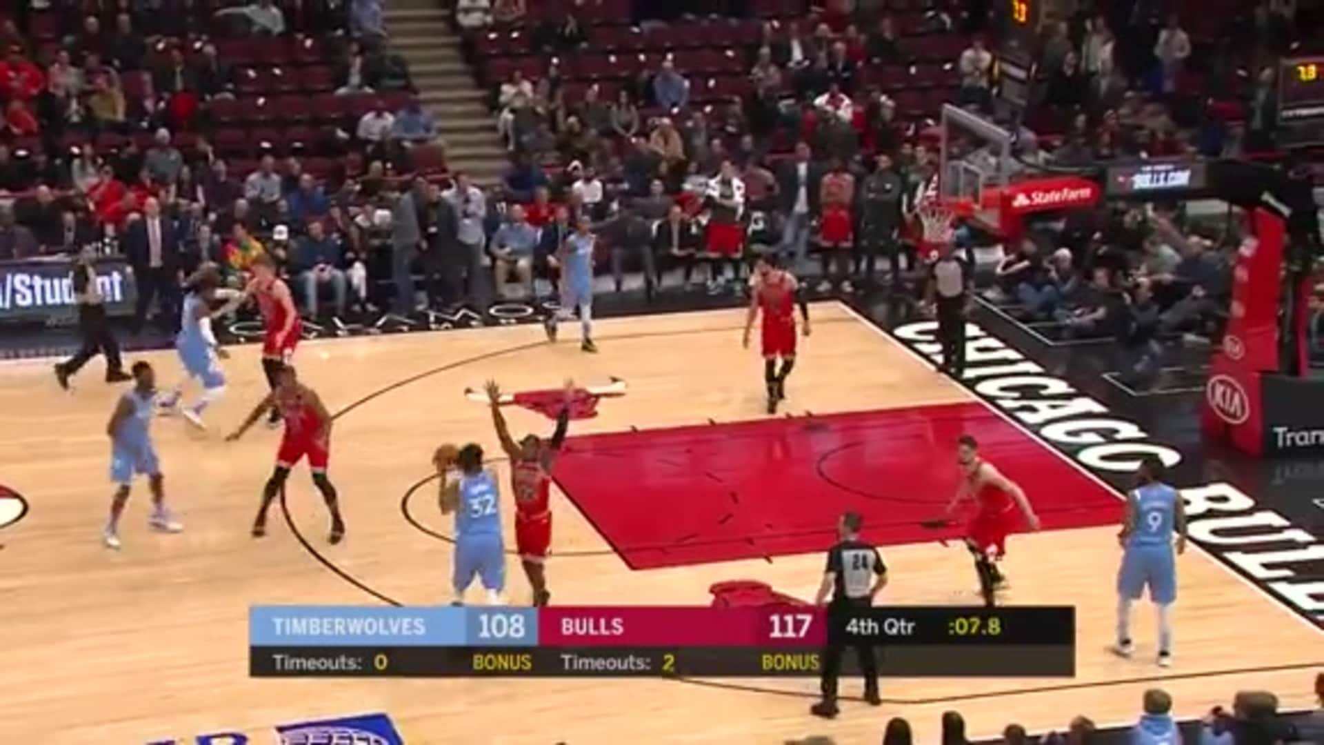 Highlights   Karl-Anthony Towns Records Season-High 40 Points Against Chicago (1.22.20)