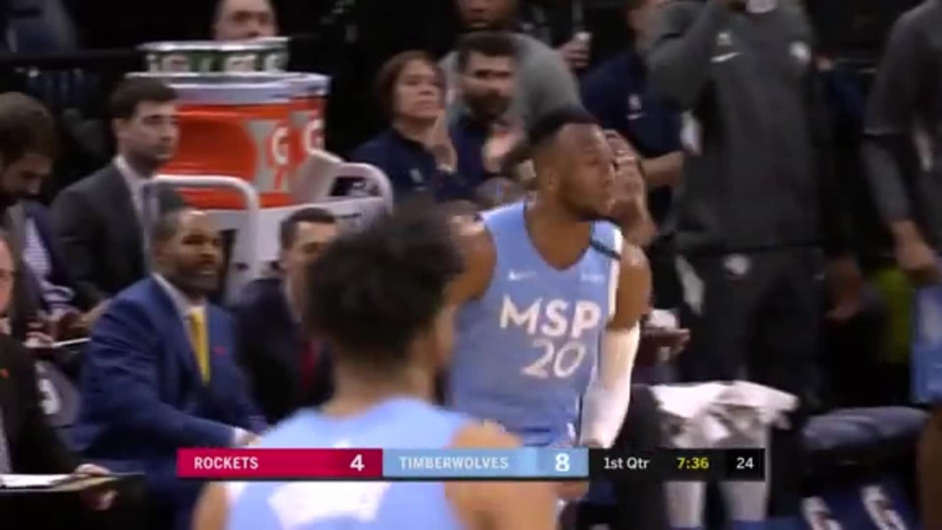 Napier With The Steal, Okogie With The Slam
