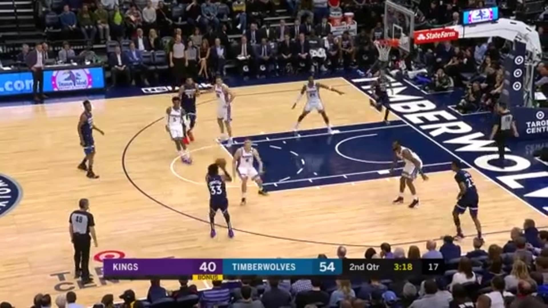 Highlights   Andrew Wiggins 36 Points, 9 Rebounds, 8 Assists vs. Kings (1.27.20)