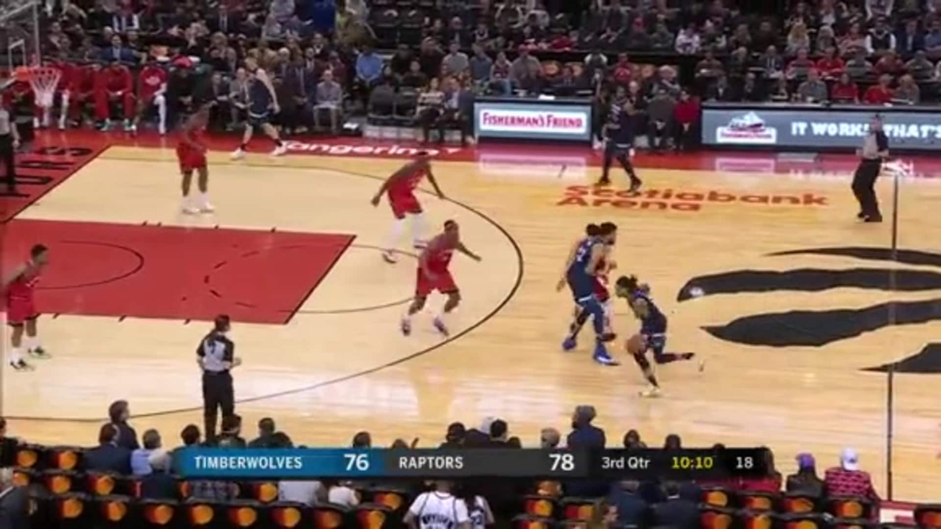D'Angelo Russell Records 22 Points, 5 Assists In Timberwolves Debut (2.10.20)