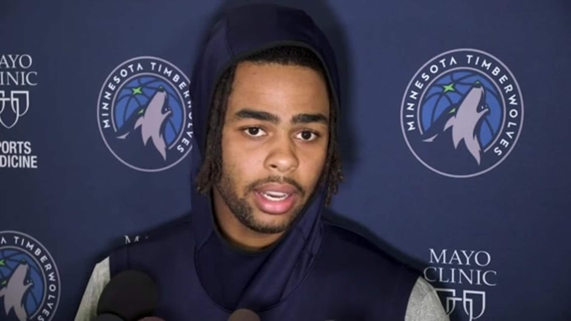 D'Angelo Russell On Goals For Timberwolves After All-Star Break (2.19.20)
