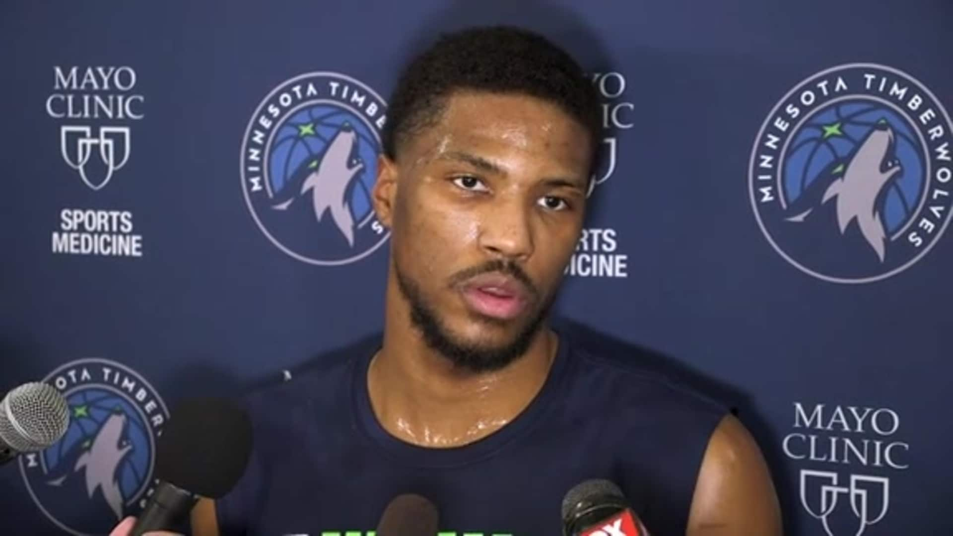 Timberwolves Guard Malik Beasley On Expectations For Remainder Of 2019-20 Season (2.19.20)