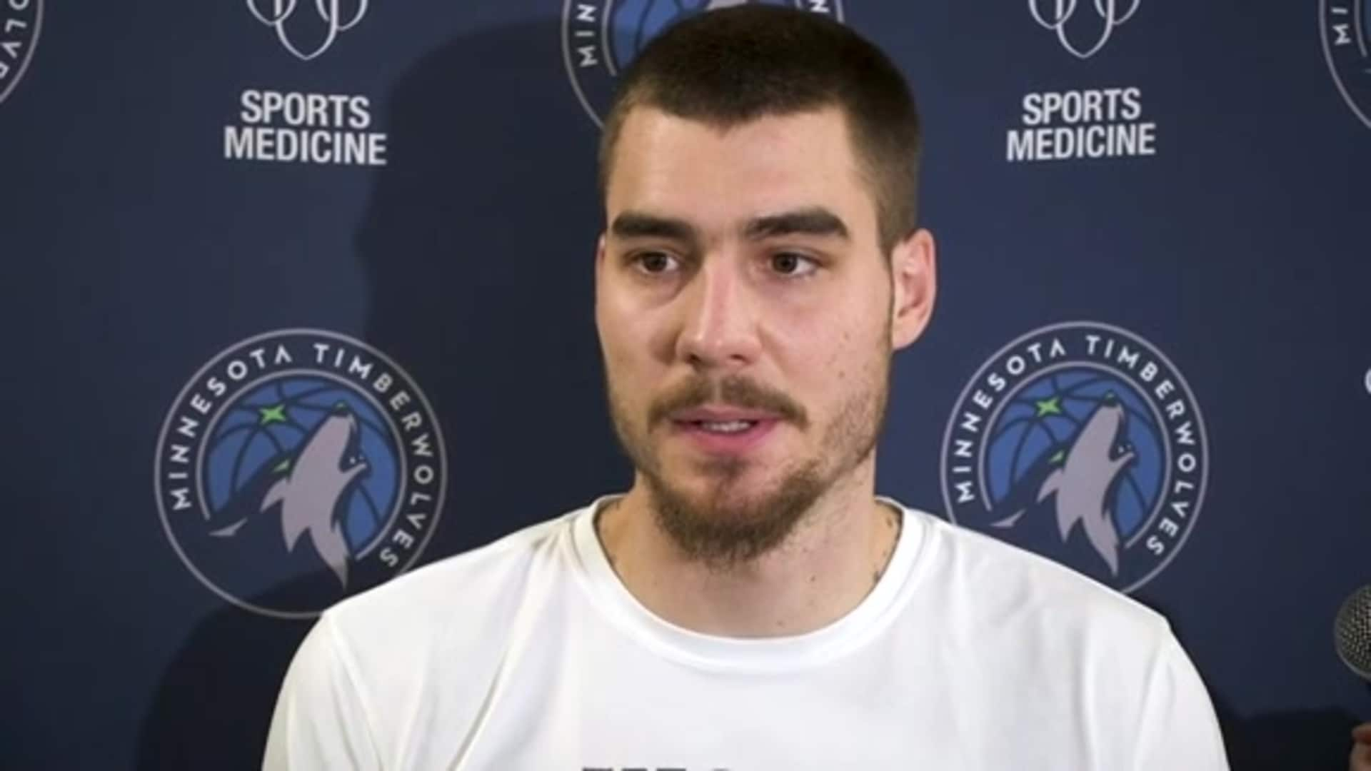 Timberwolves Forward Juancho Hernangomez: 'We Want To Be A Family' (2.20.20)