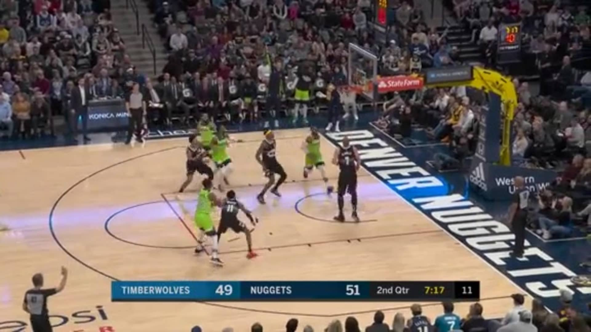 Highlights | Timberwolves 116, Nuggets 128 (2.23.20)