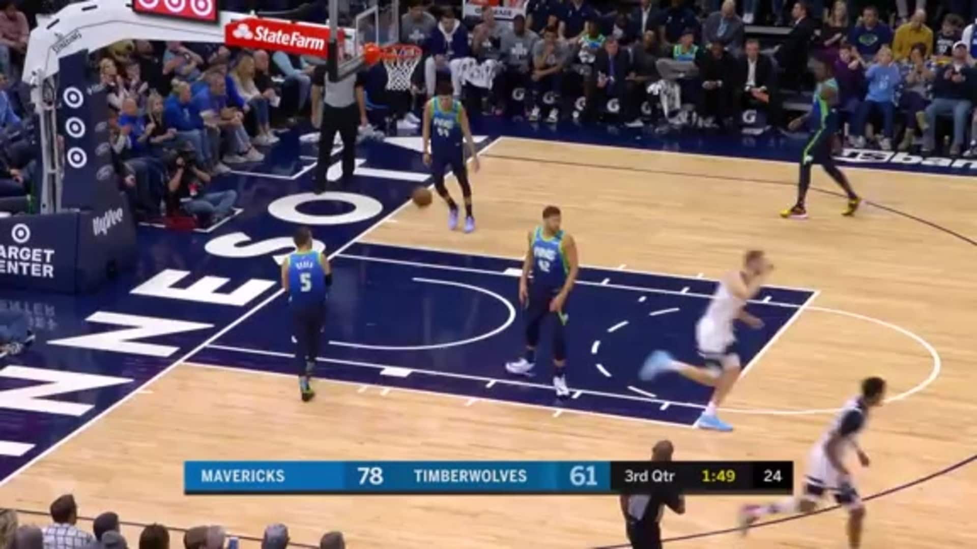 Highlights | Timberwolves 91, Mavericks 111 (3.1.20)