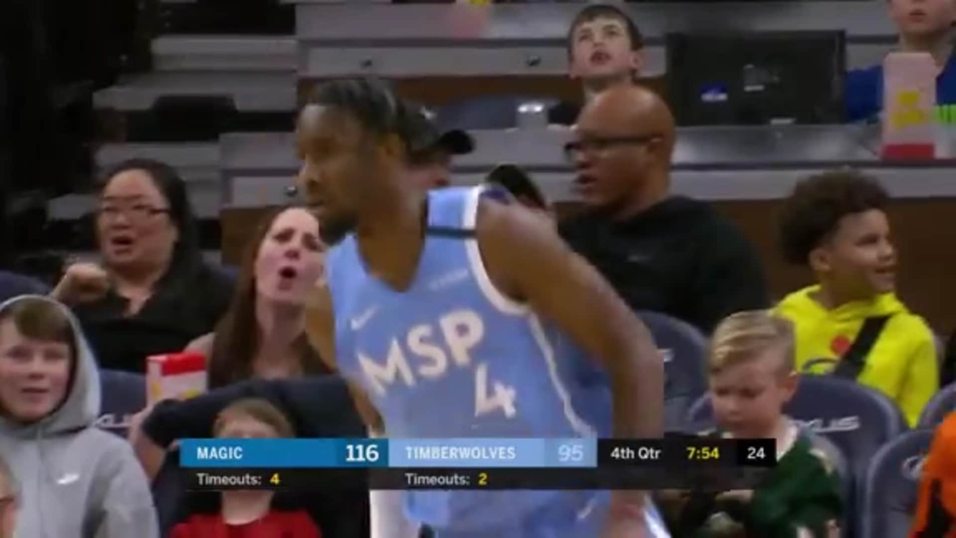 J-Mac Assists Nowell Dunk