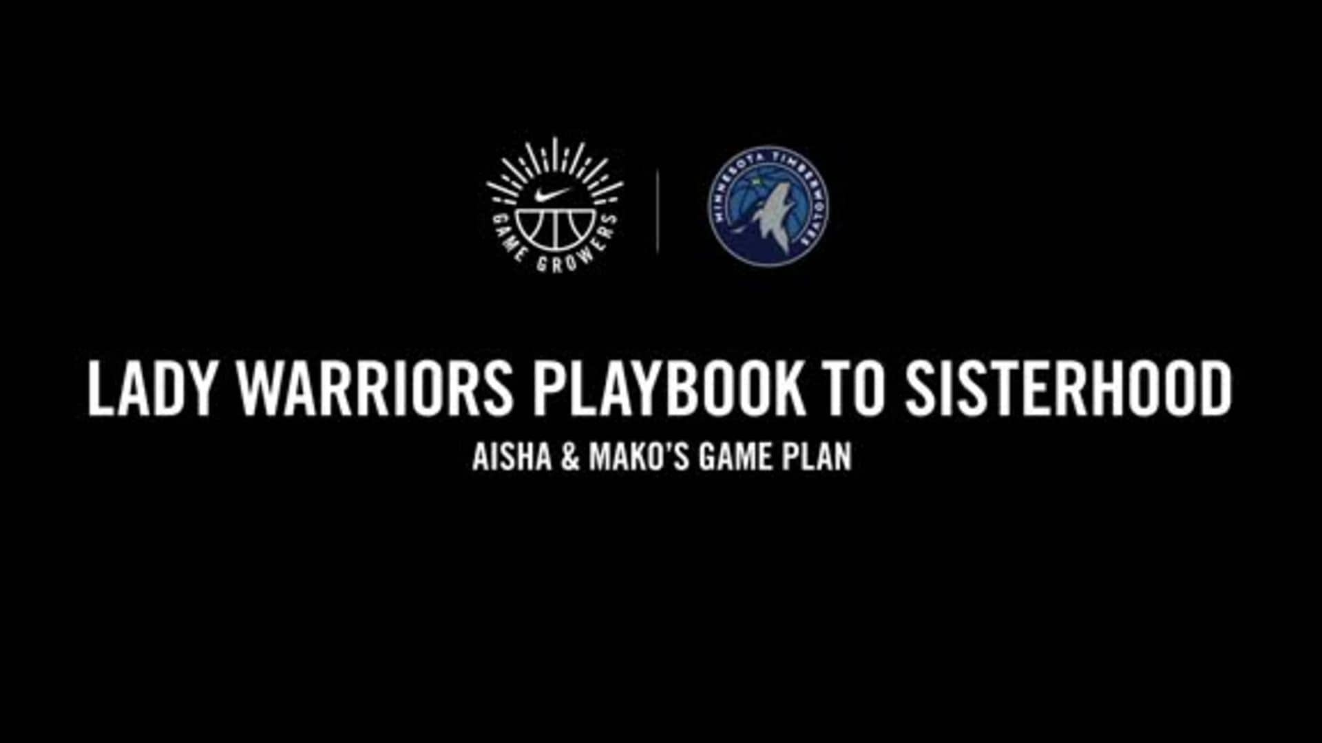 Nike Game Growers | Aisha & Mako's Game Plan