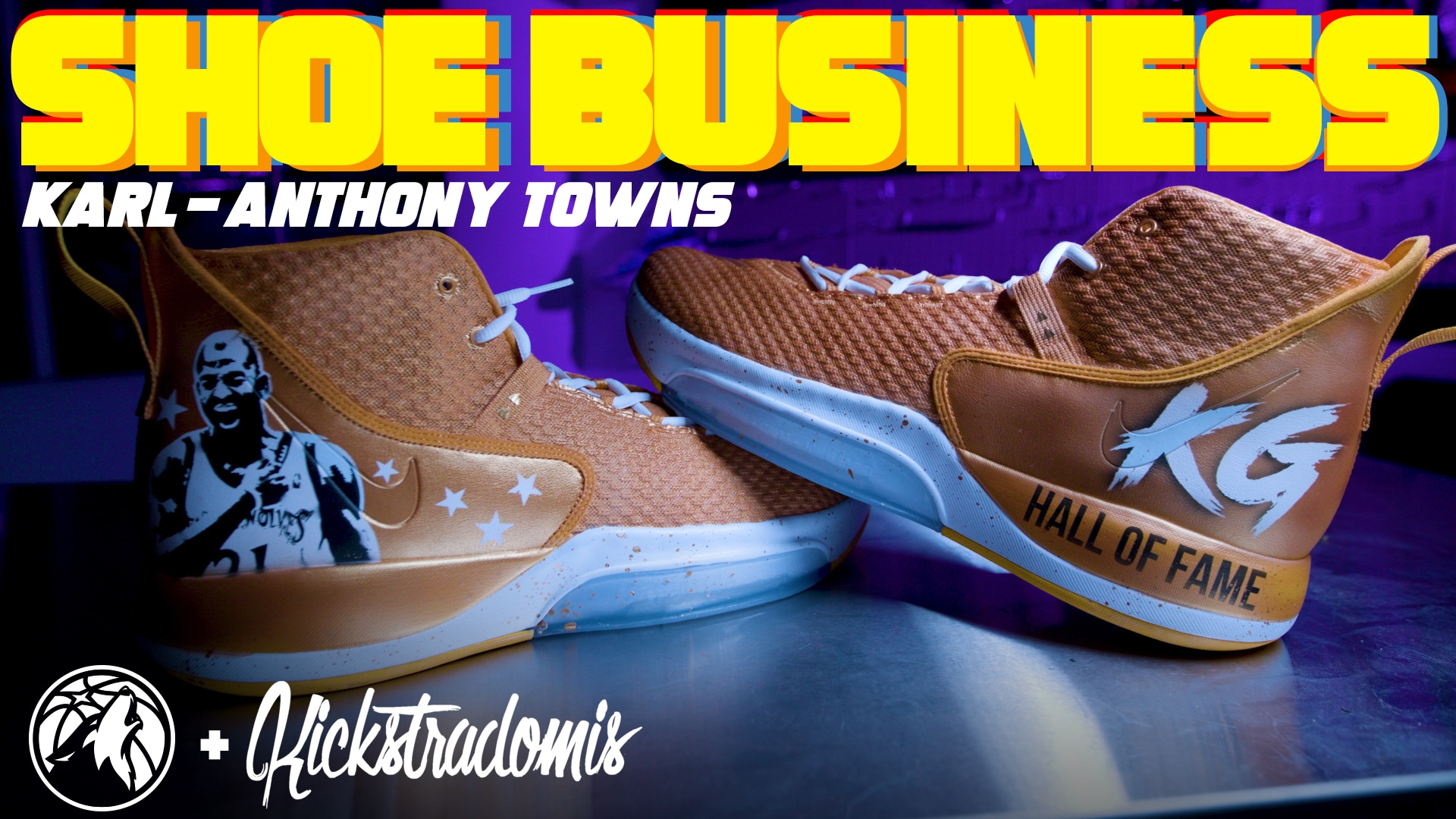 Shoe Business With Kickstradomis | Karl-Anthony Towns