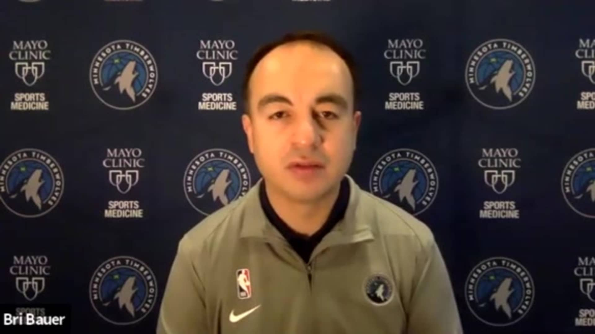 Gersson Rosas Pre-Draft Media Availability