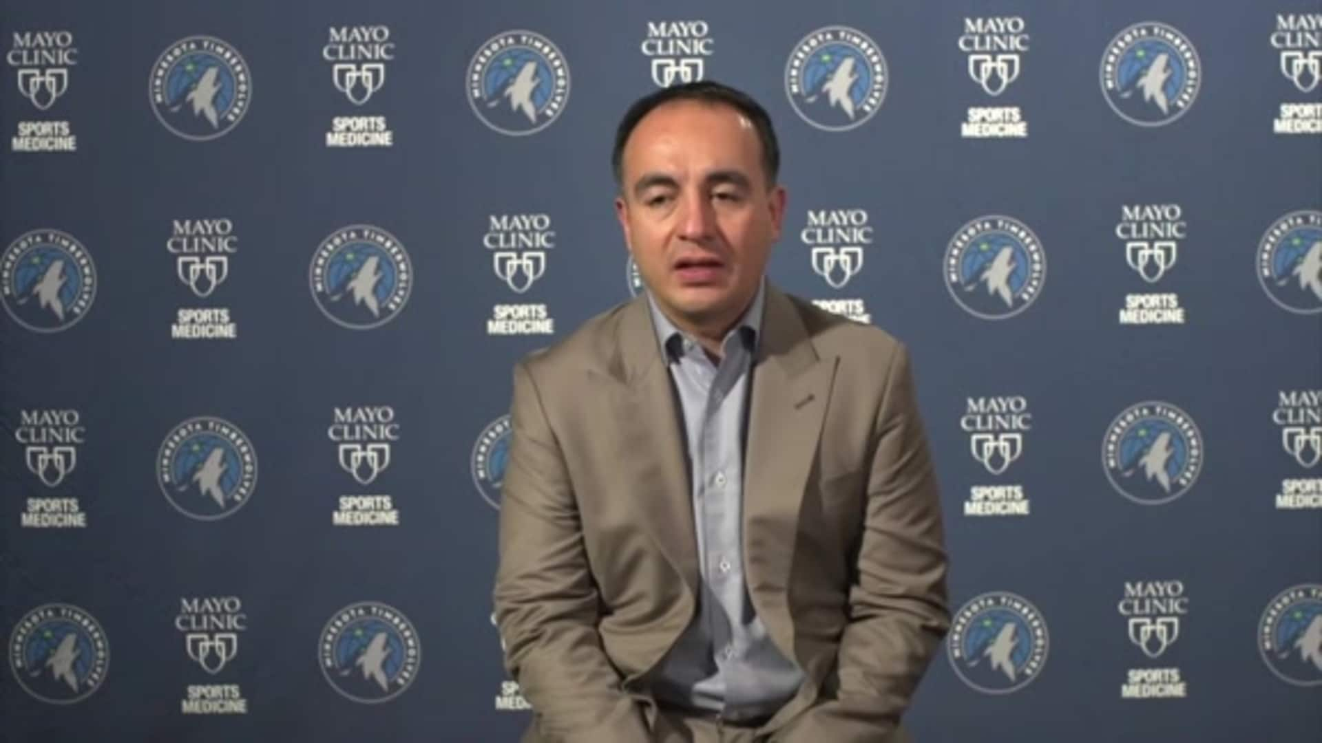 Media Availability | Gersson Rosas Post-Draft - 11/18/20