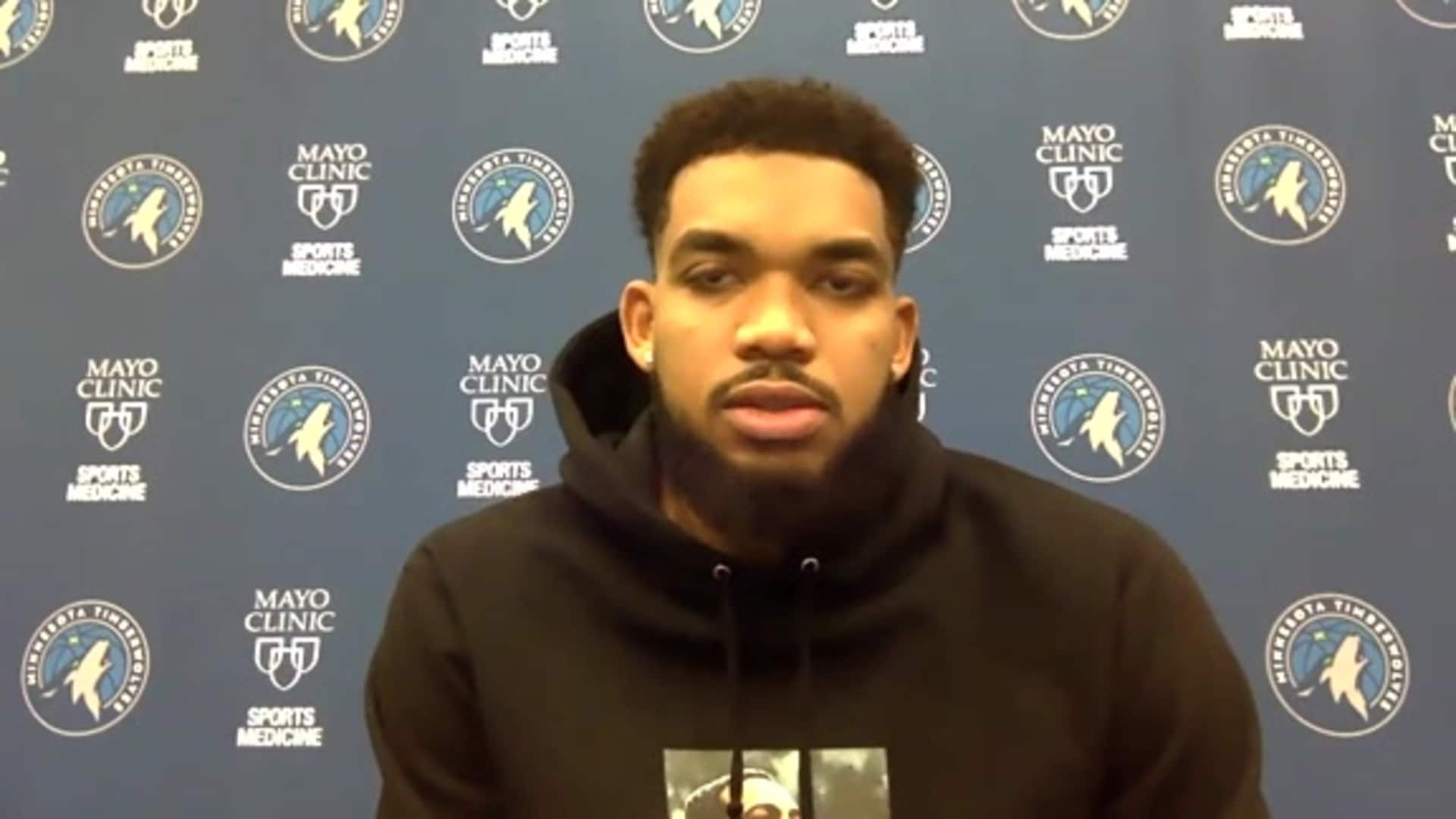 Karl-Anthony Towns Media Availability - December 4, 2020