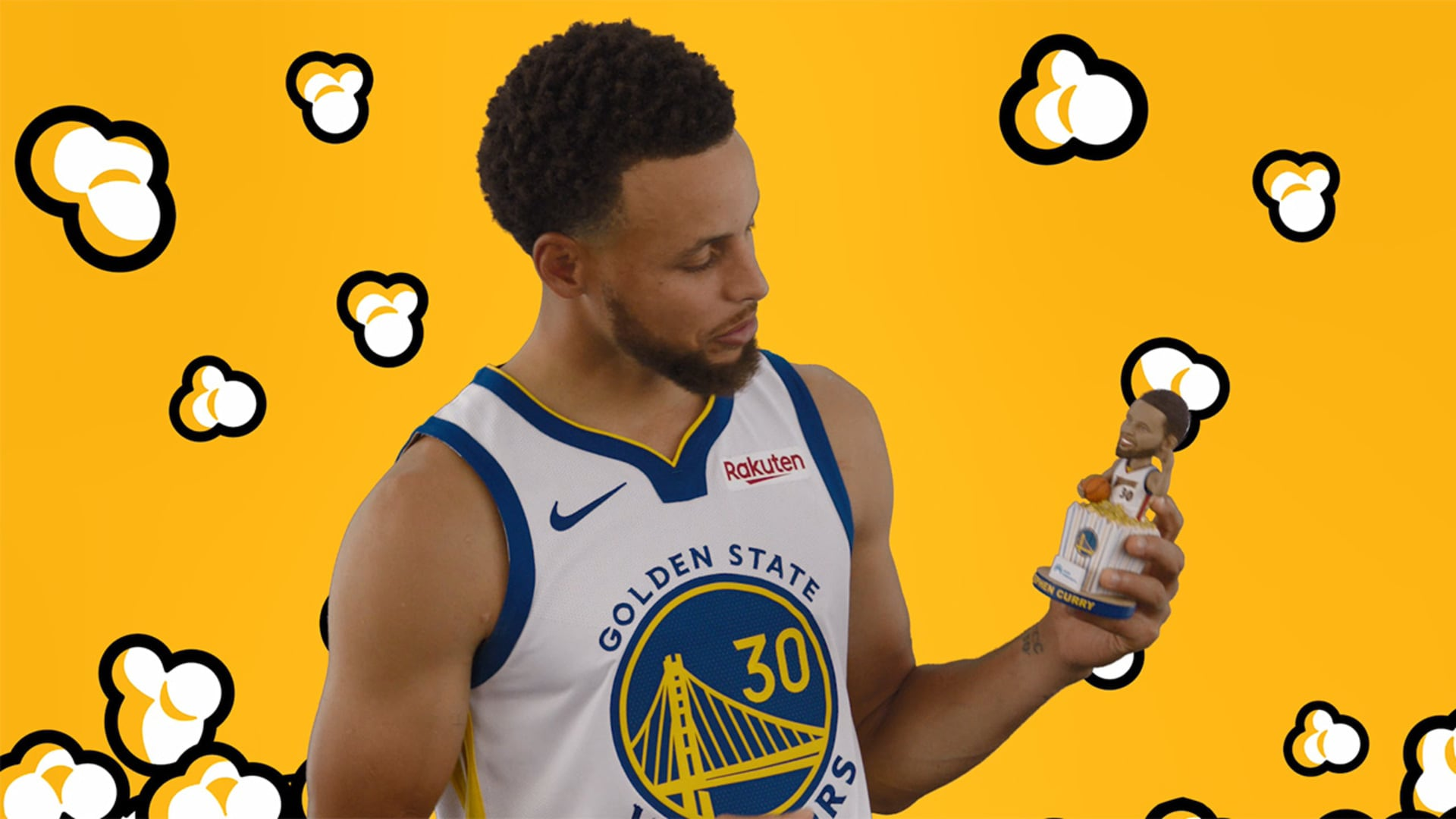 Stephen Curry: 'Sitting in a Bowl of Popcorn'