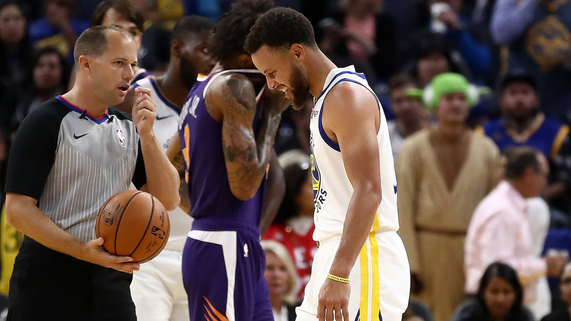 Verizon Game Rewind: Dubs Burned by Suns, Curry Injury