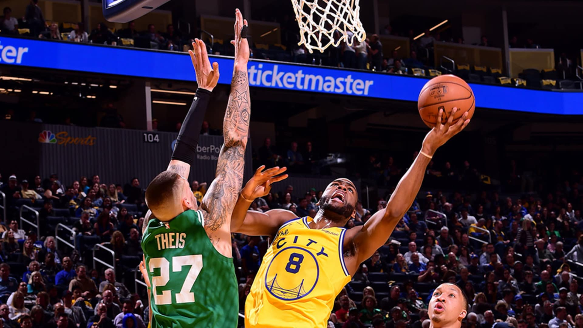 Verizon Game Rewind: Dubs Down To The Wire Against Celtics