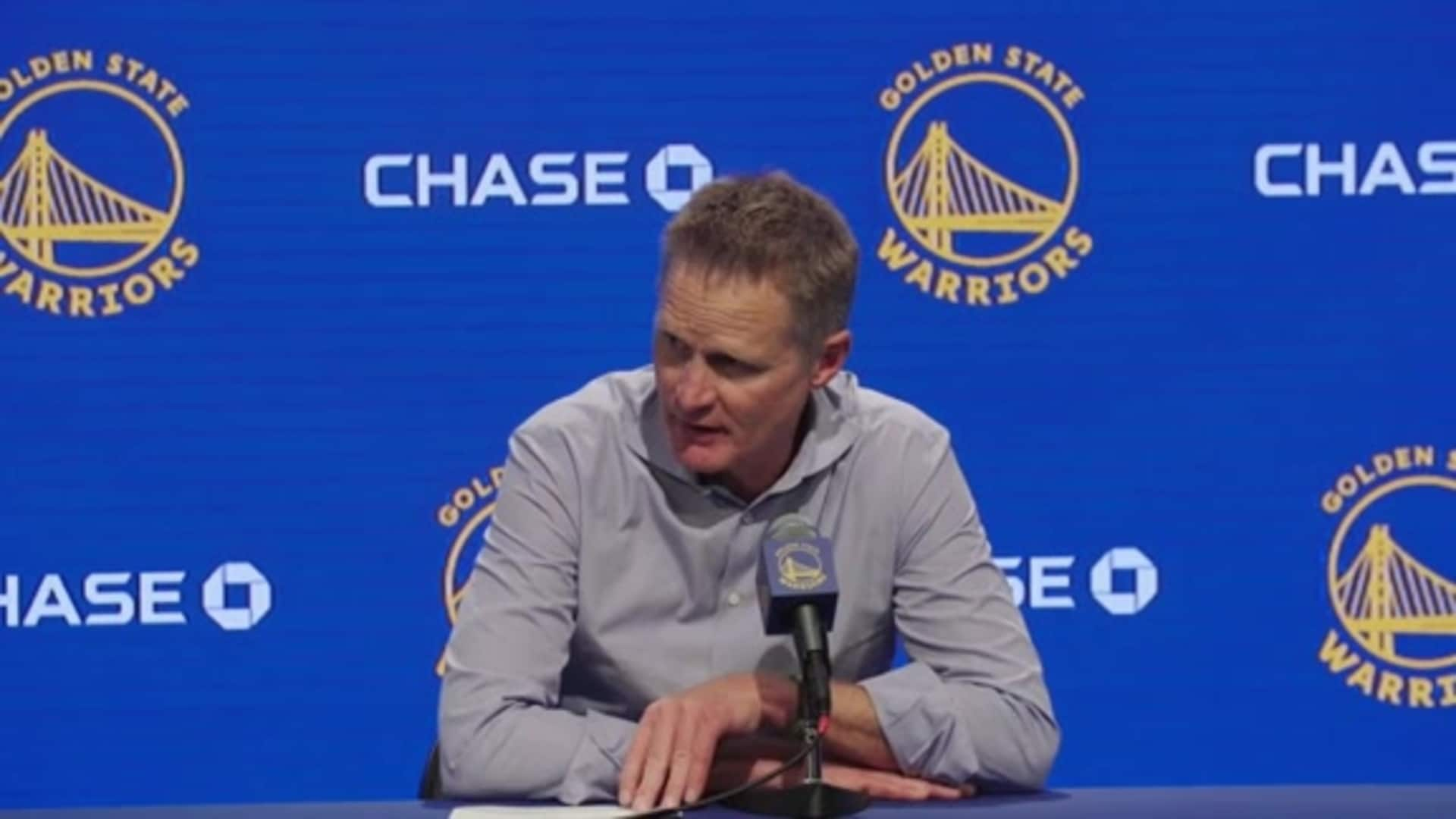 Postgame Warriors Talk: Steve Kerr - 11/15/19