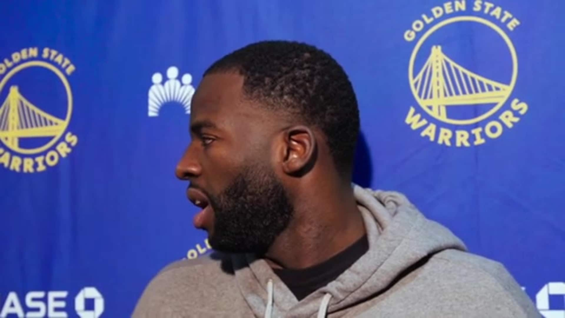 Postgame Warriors Talk: Draymond Green - 12/4/19