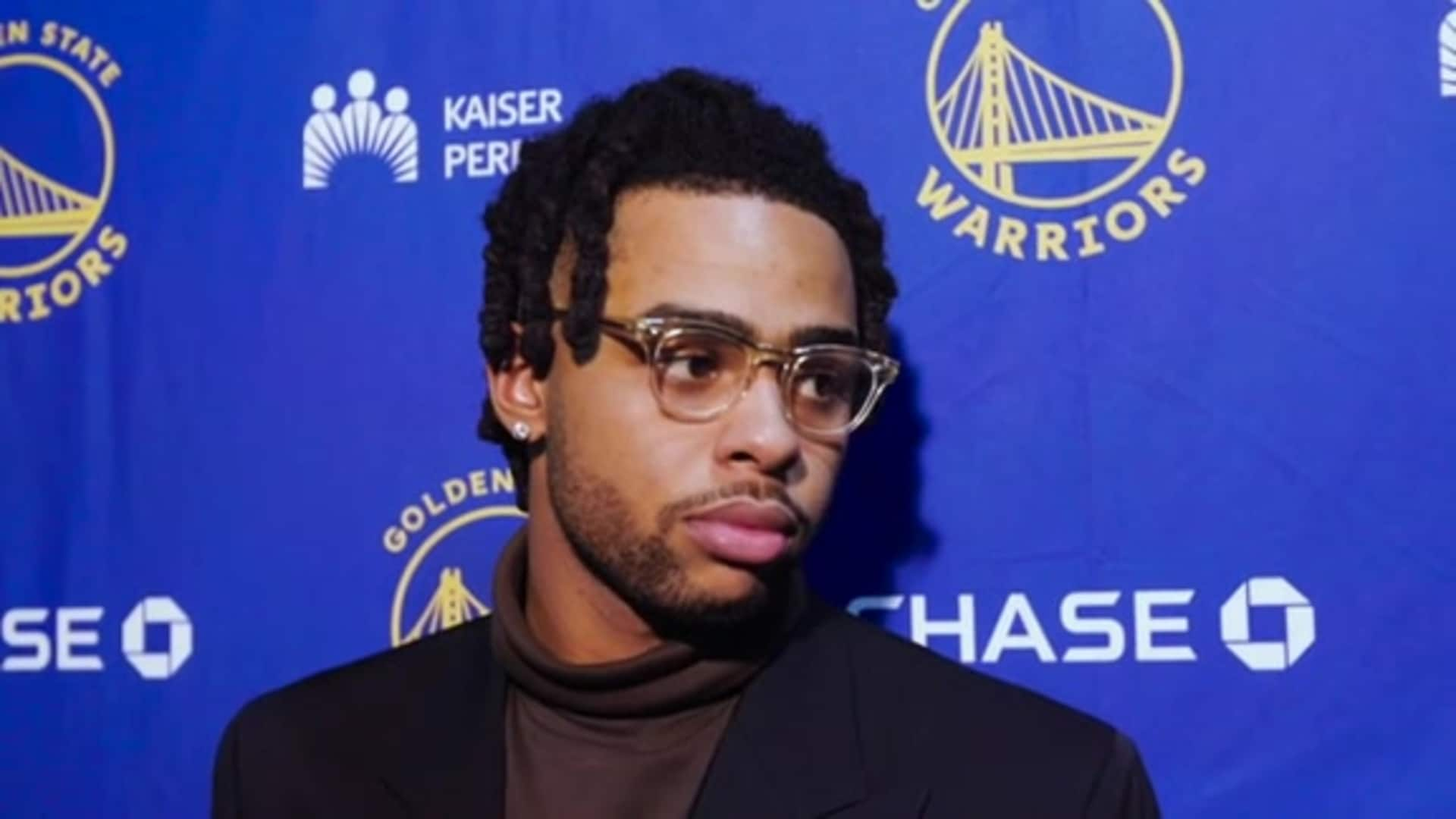 Postgame Warriors Talk: D'Angelo Russell - 12/4/19