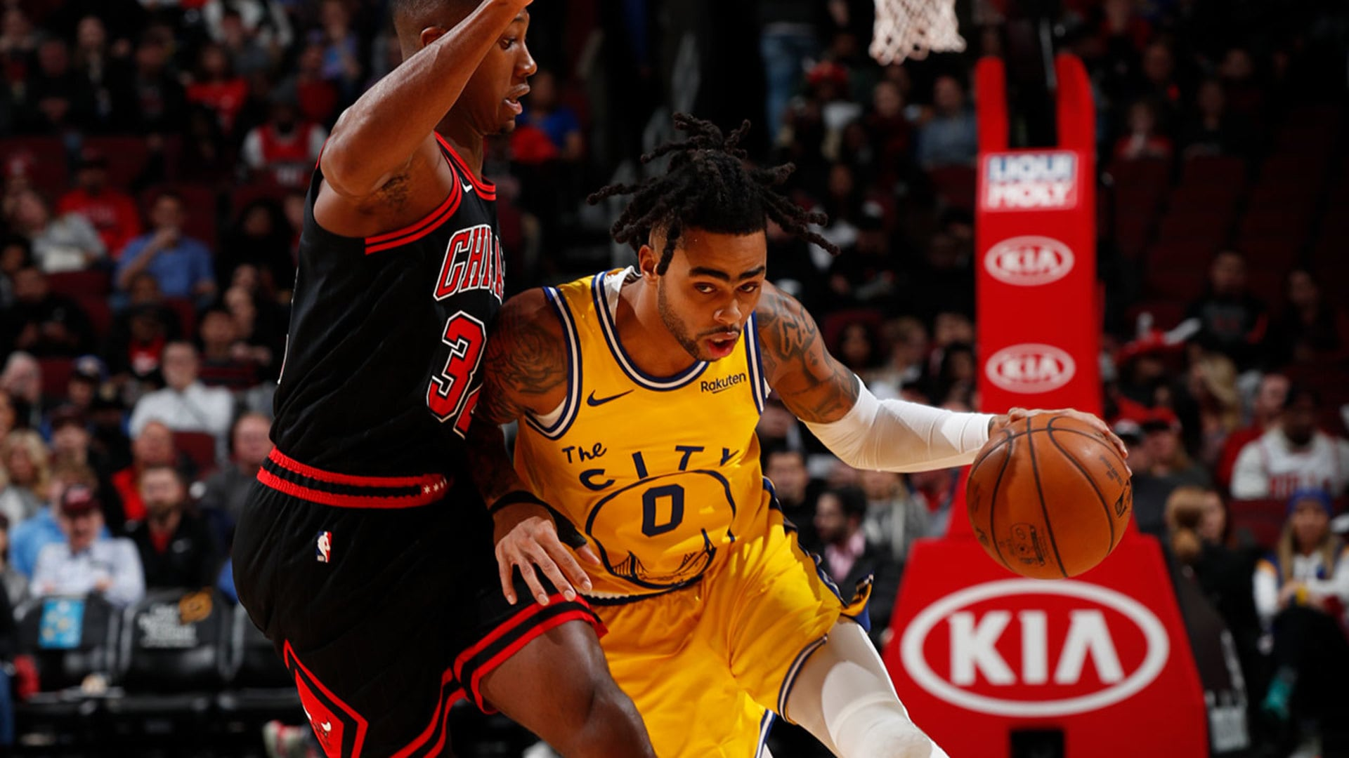 Verizon Game Rewind: Dubs Hold-Off Bulls for Win