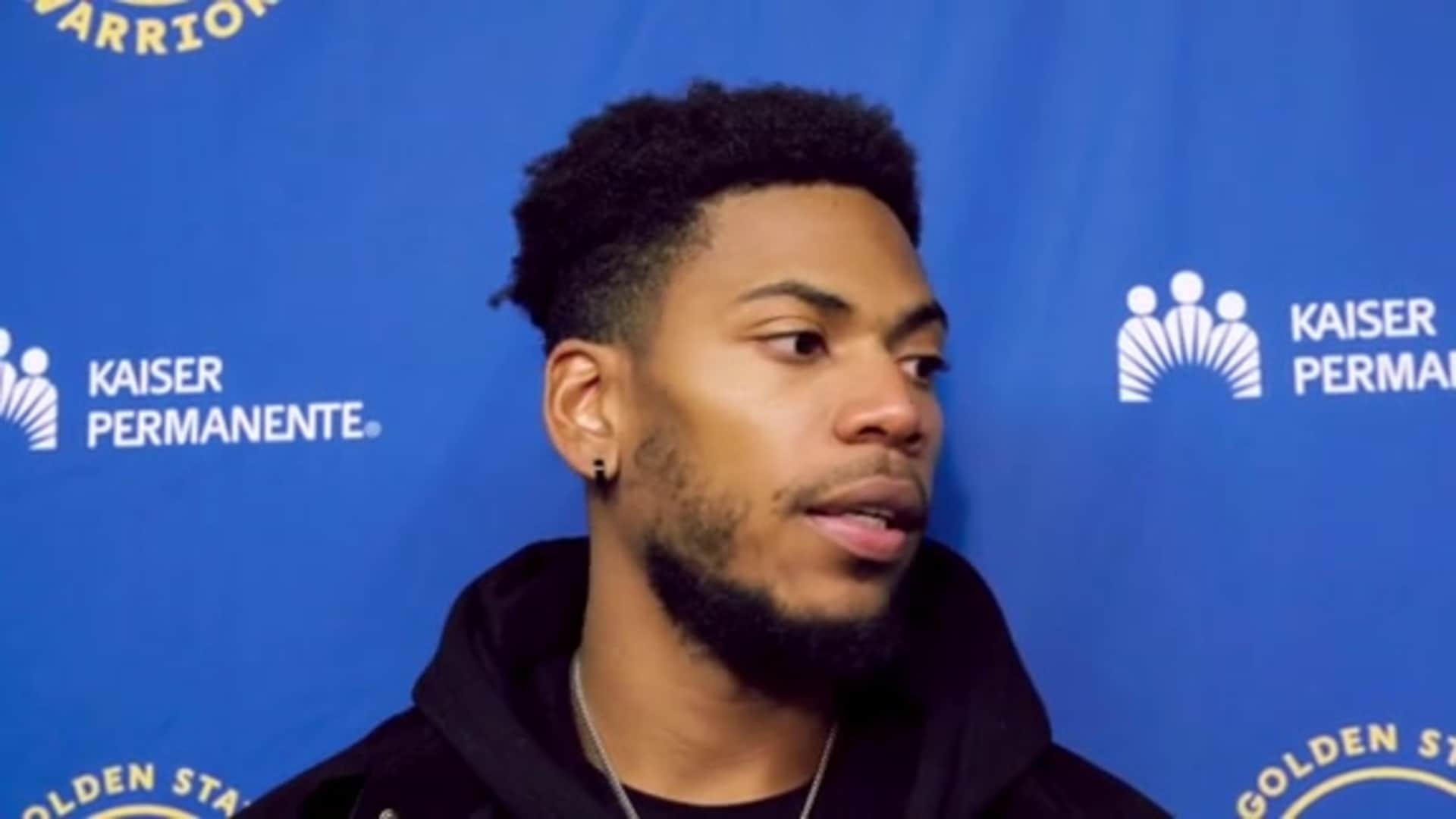 Postgame Warriors Talk: Glenn Robinson III - 12/6/19