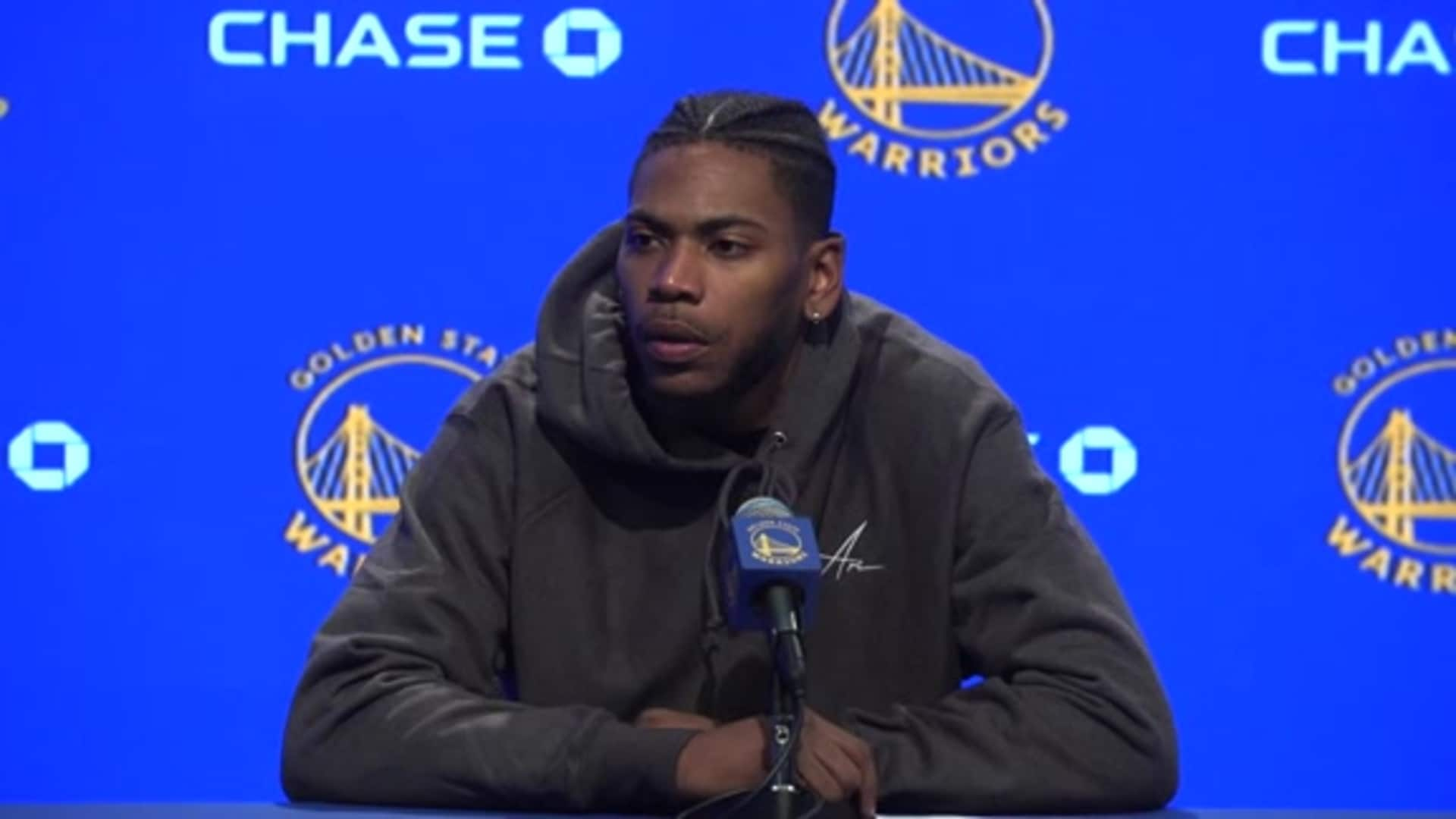 Postgame Warriors Talk: Glenn Robinson III - 1/16/20