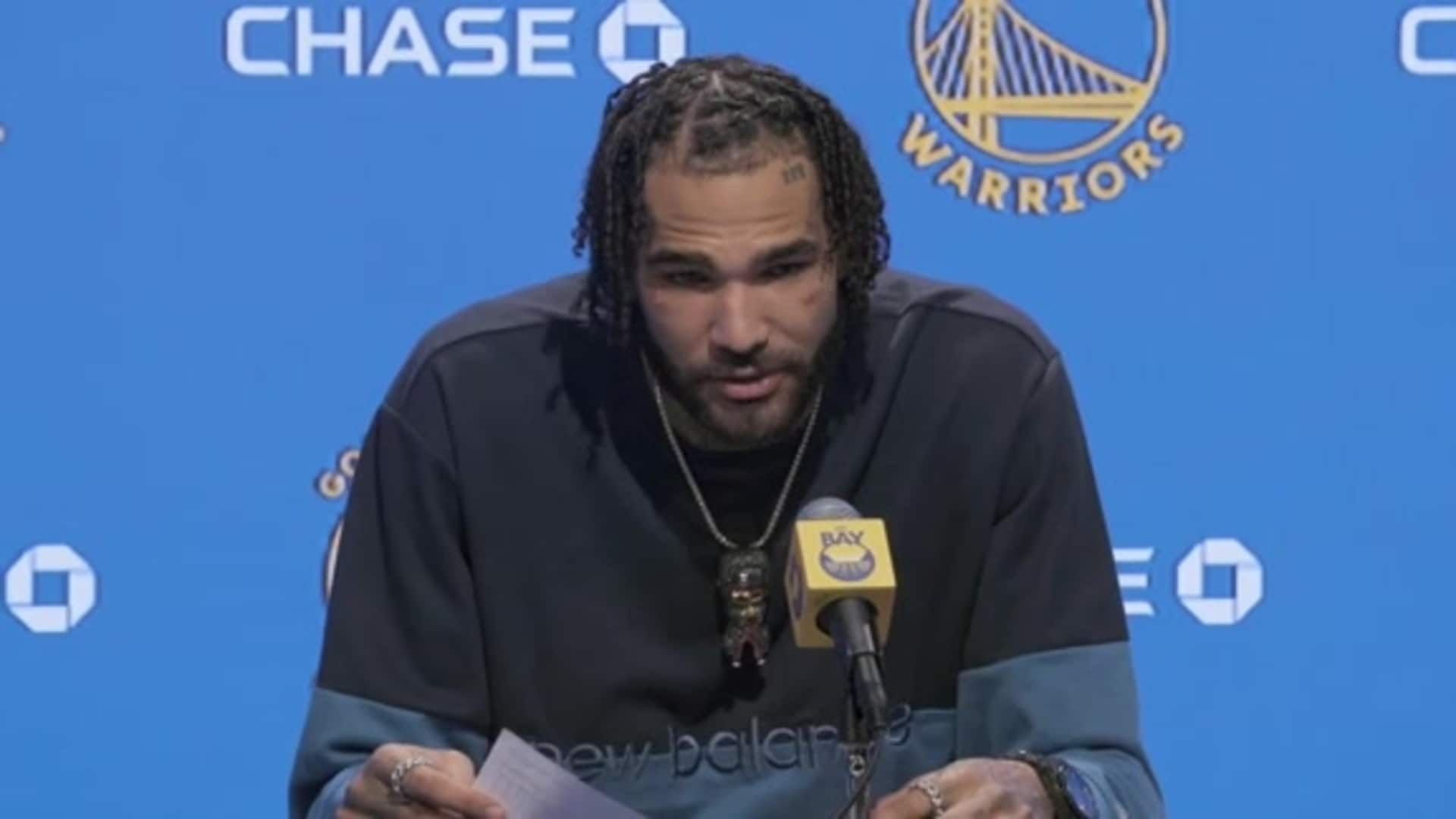 Postgame Warriors Talk: Willie Cauley-Stein - 1/18/20