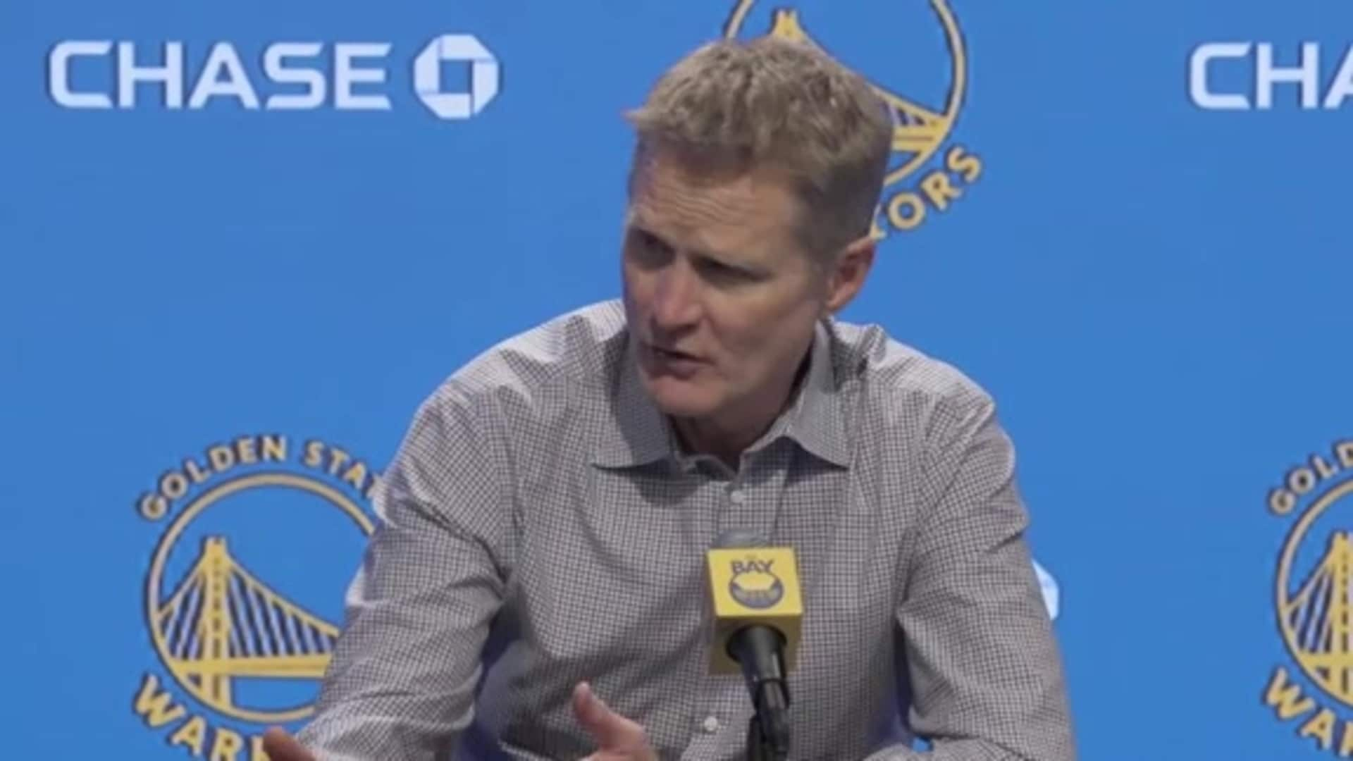 Postgame Warriors Talk: Steve Kerr - 1/18/20