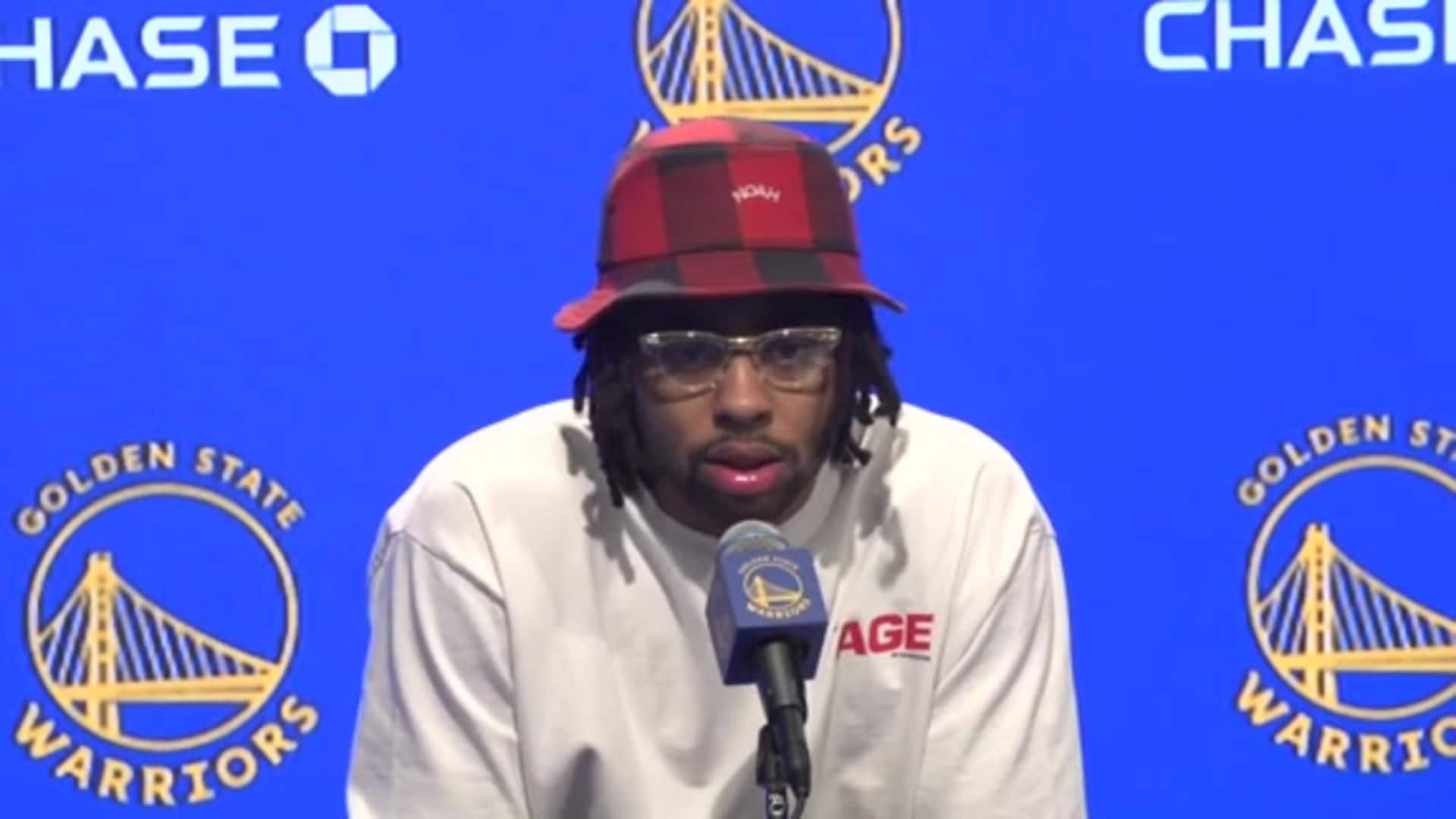 Postgame Warriors Talk: D'Angelo Russell - 1/22/20