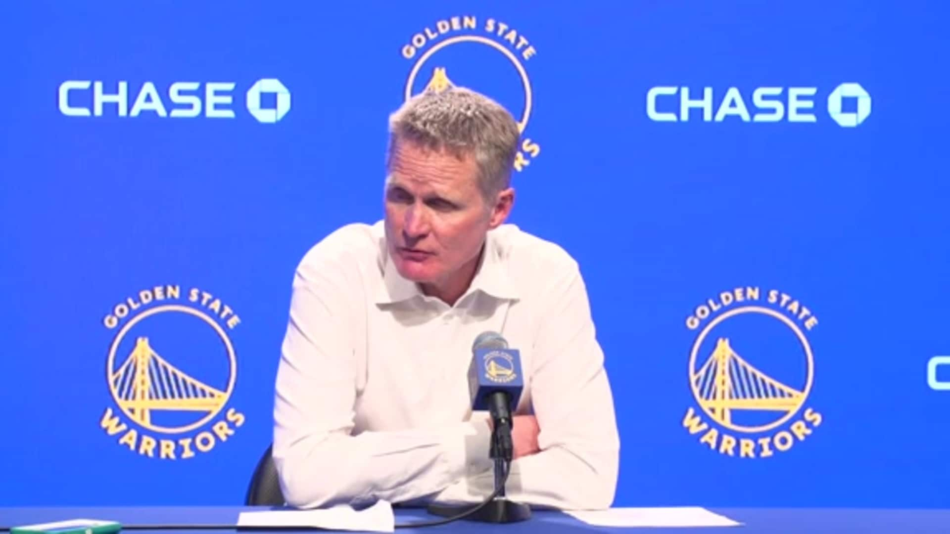 Postgame Warriors Talk: Steve Kerr - 1/24/20