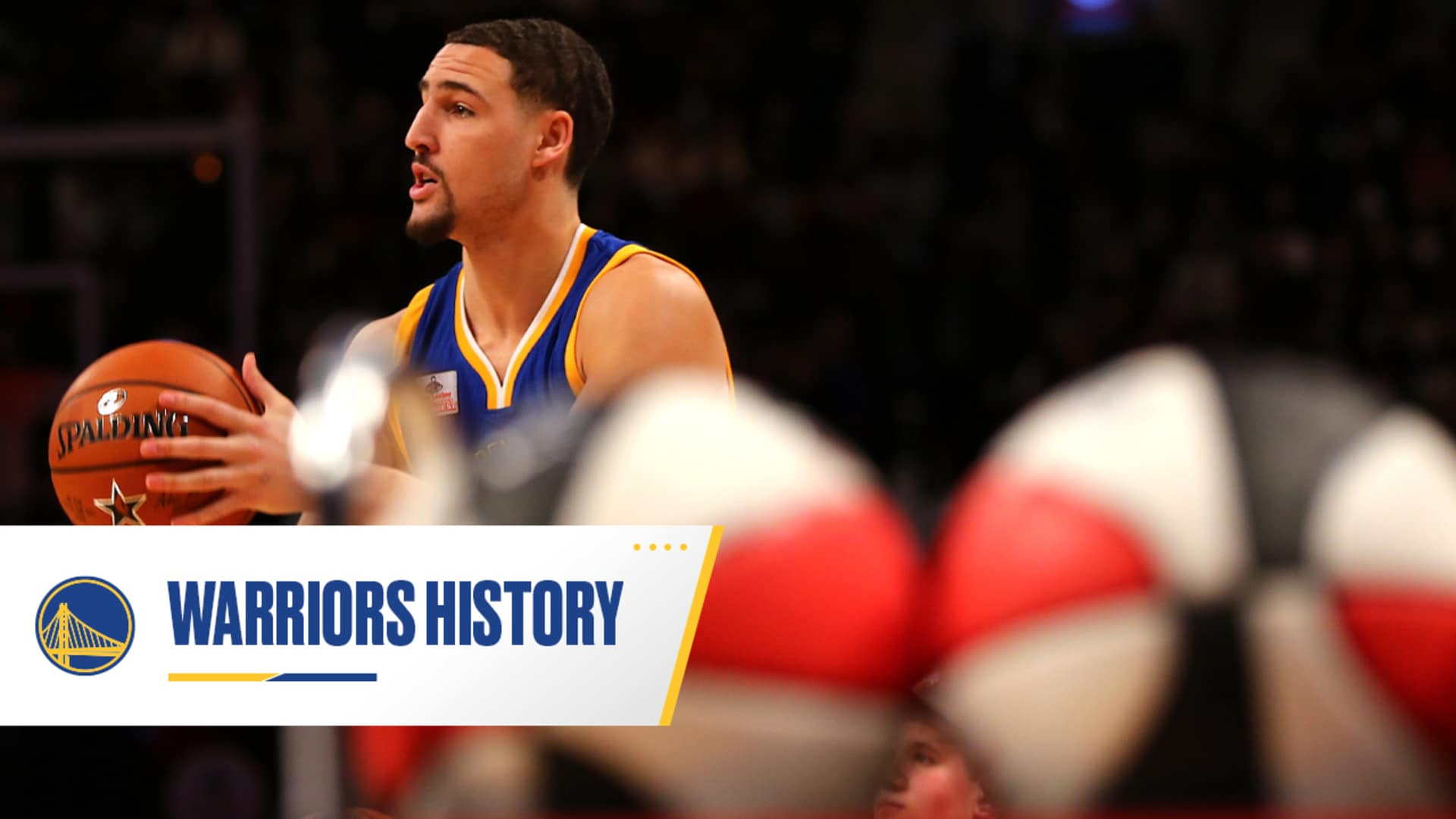 On This Date in Warriors History: Klay Thompson Wins 3-Point Contest
