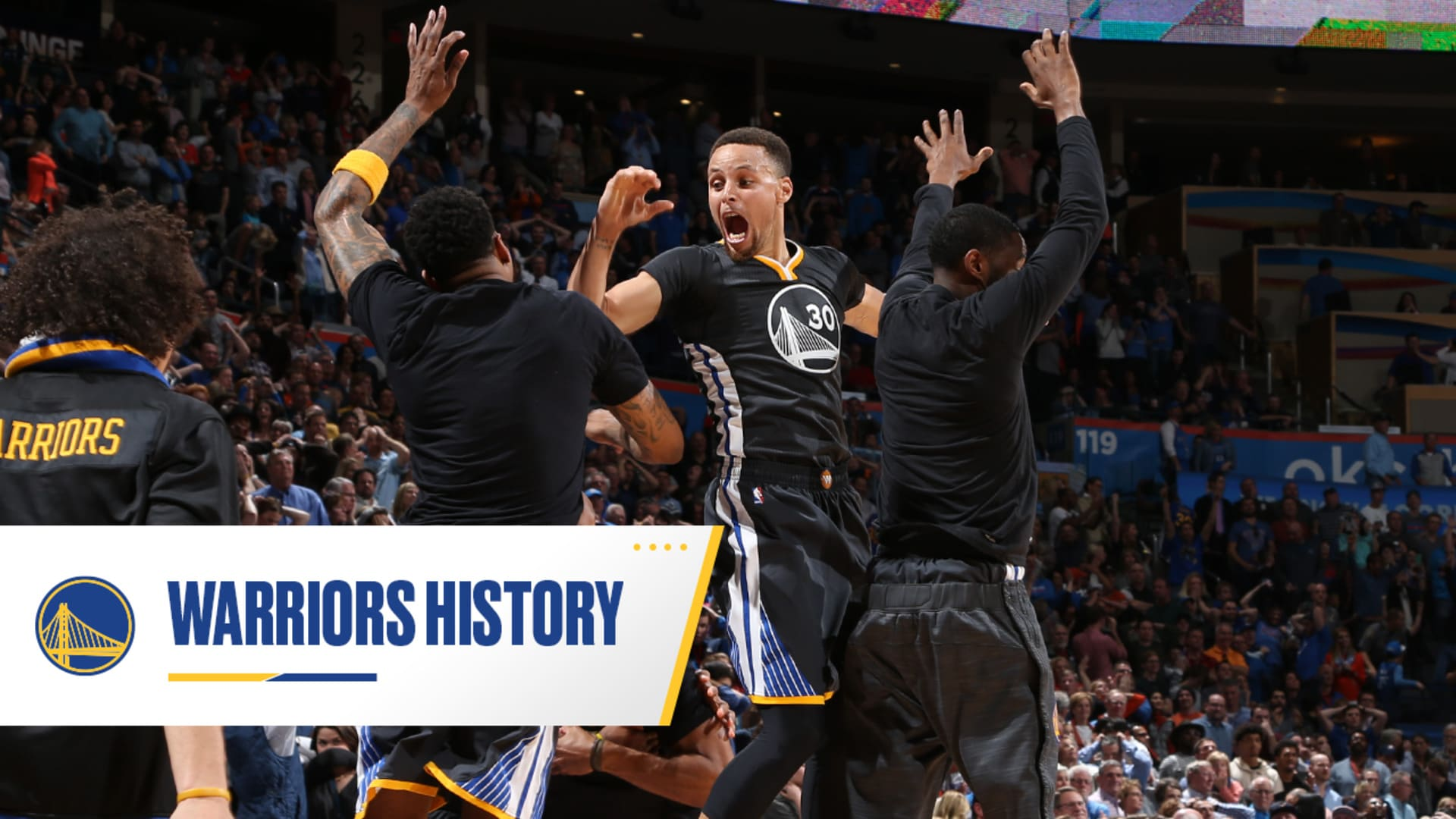 Feb. 27, 2016: Stephen Curry Makes 38-Foot Game-Winner