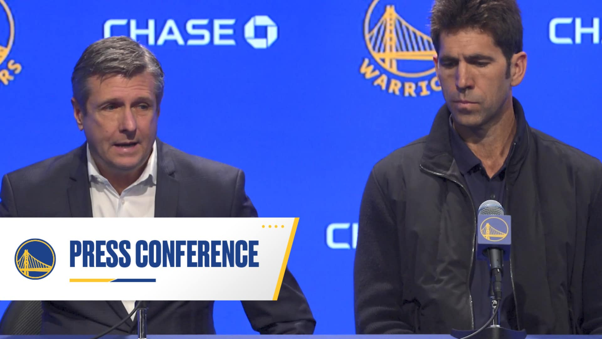Rick Welts and Bob Myers Press Conference - 3/11/20