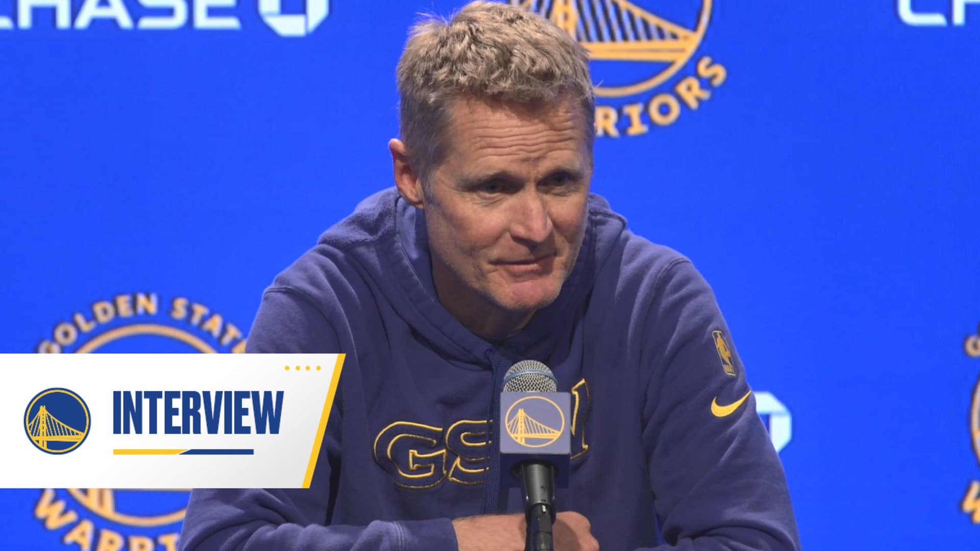 Warriors Talk: Steve Kerr - 3/11/20