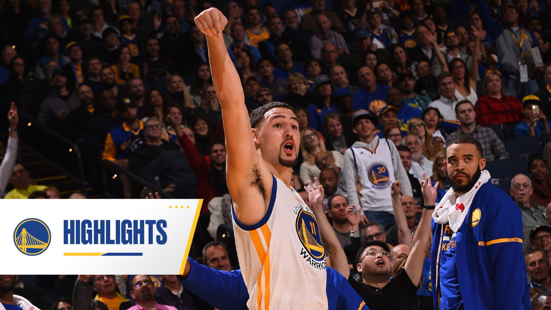 Warriors Classics: Klay Scores 60 Points ... on 11 Dribbles