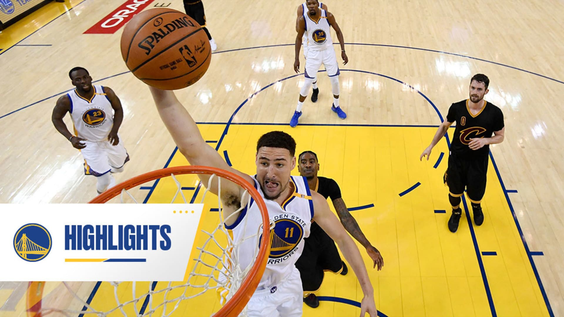 Splash Brother Slams: Klay Thompson's Top Dunks