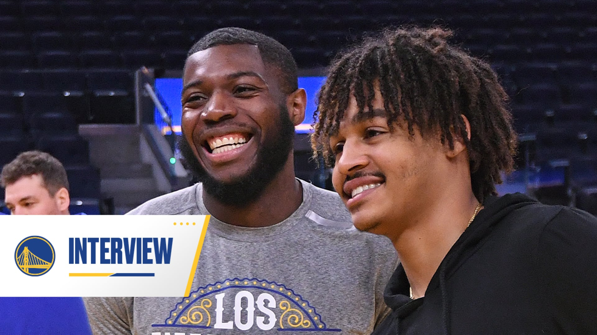 Checking in with Eric Paschall and Jordan Poole