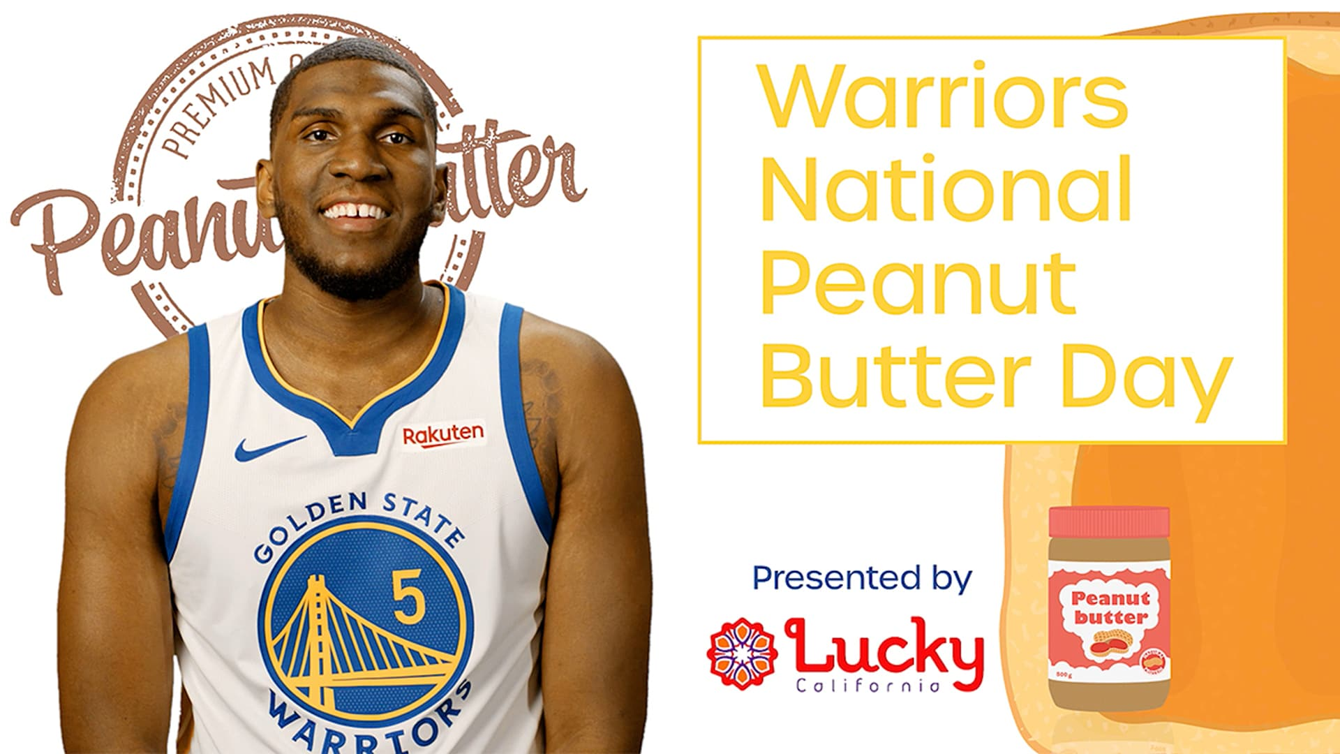 Warriors Chef Academy Recipe for National Peanut Butter Day