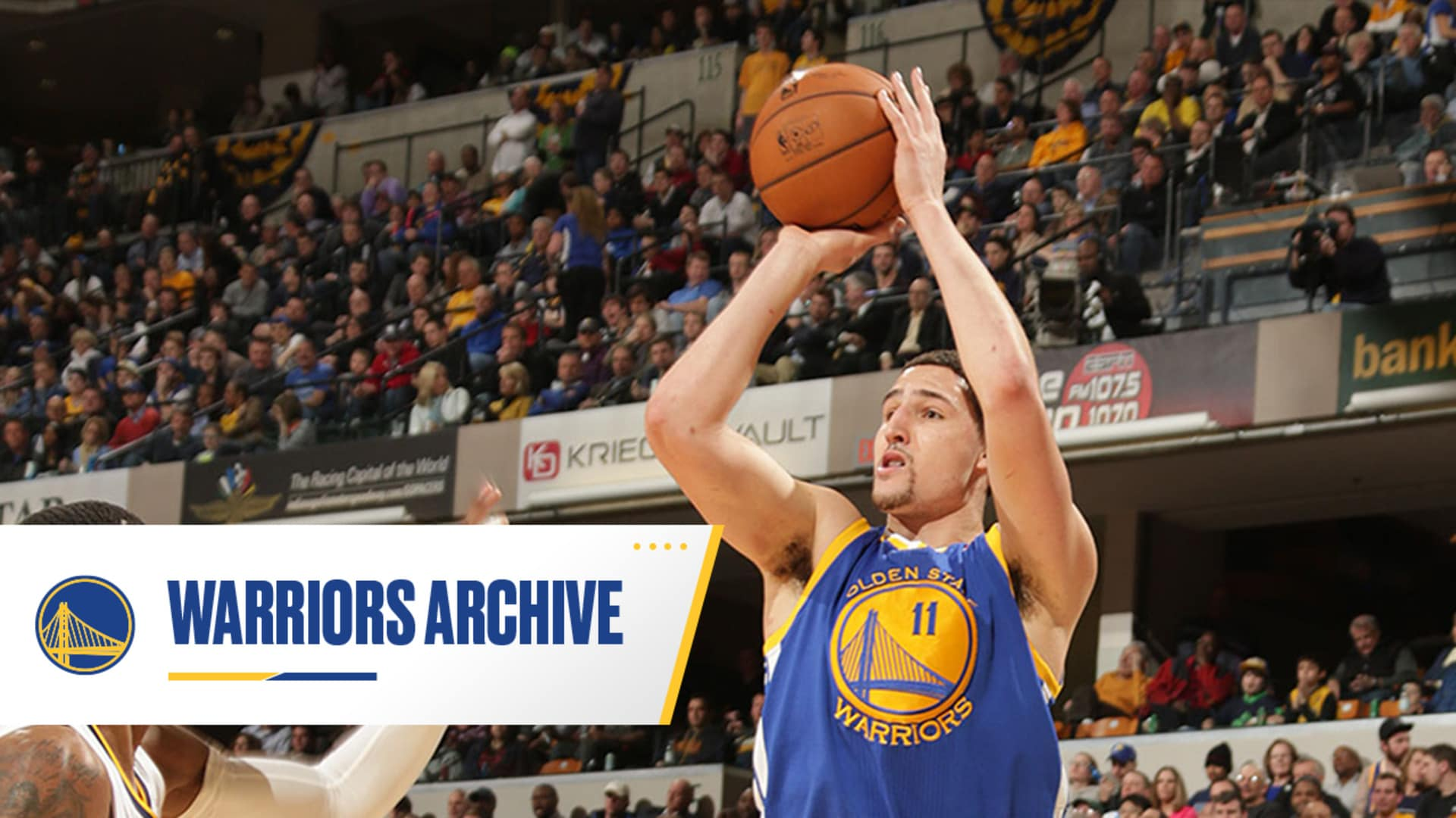Klay Thompson Seals Warriors Win Over Pacers