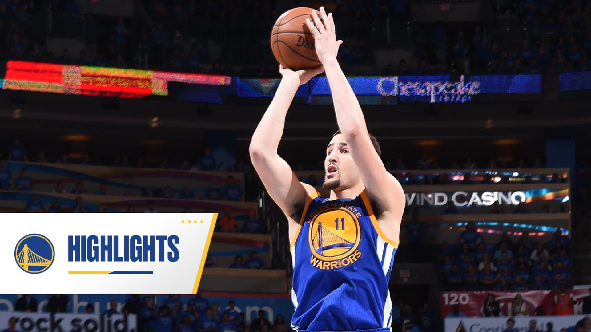 Game 6 Klay: Thompson Sets NBA Playoff Record with 11 Threes vs. Thunder
