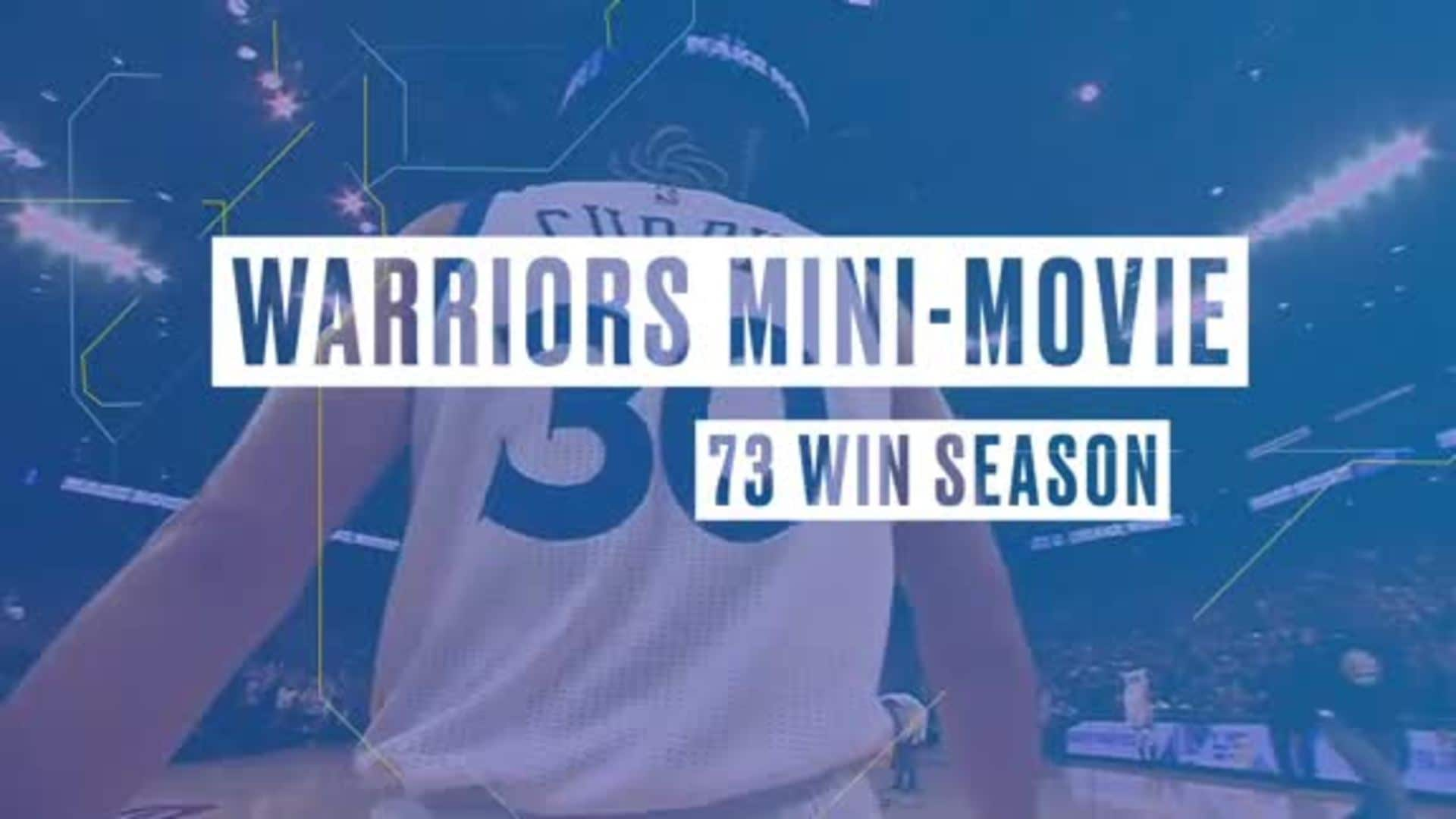 Warriors Mini-Movie: 73-Win Season